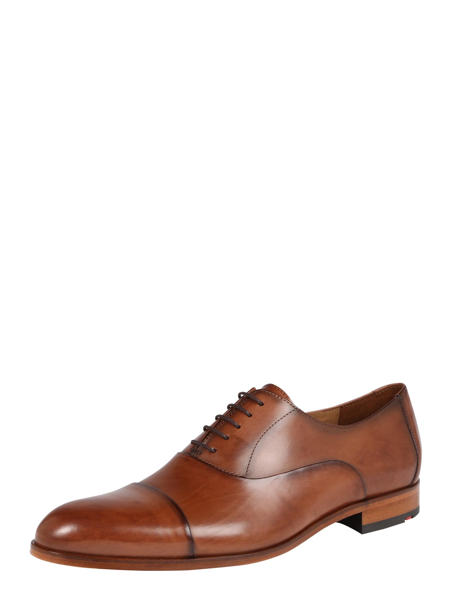 Šněrovací boty MALIK rezavě hnědá LLOYD