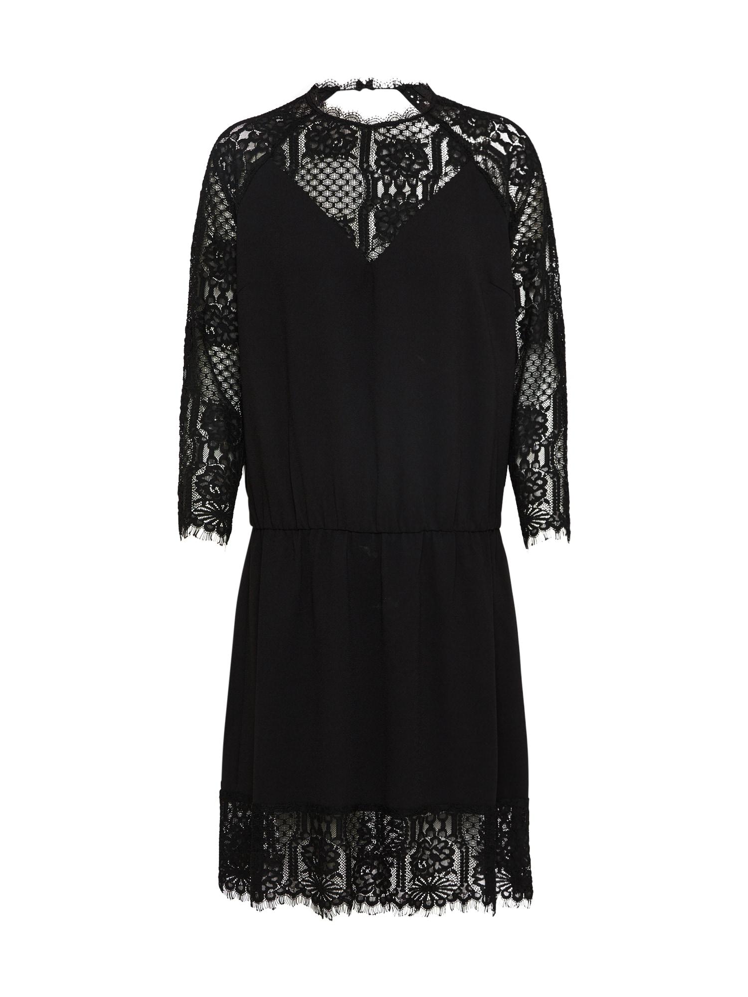 Koktejlové šaty černá Pop Copenhagen