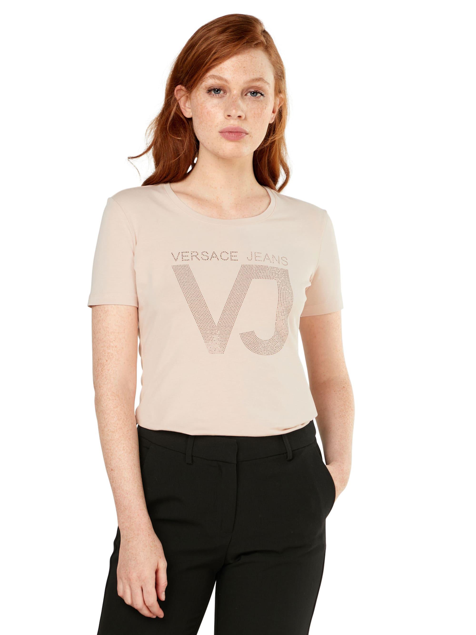 Versace Jeans Koszulka 'RDM606 45VJ'  pudrowy