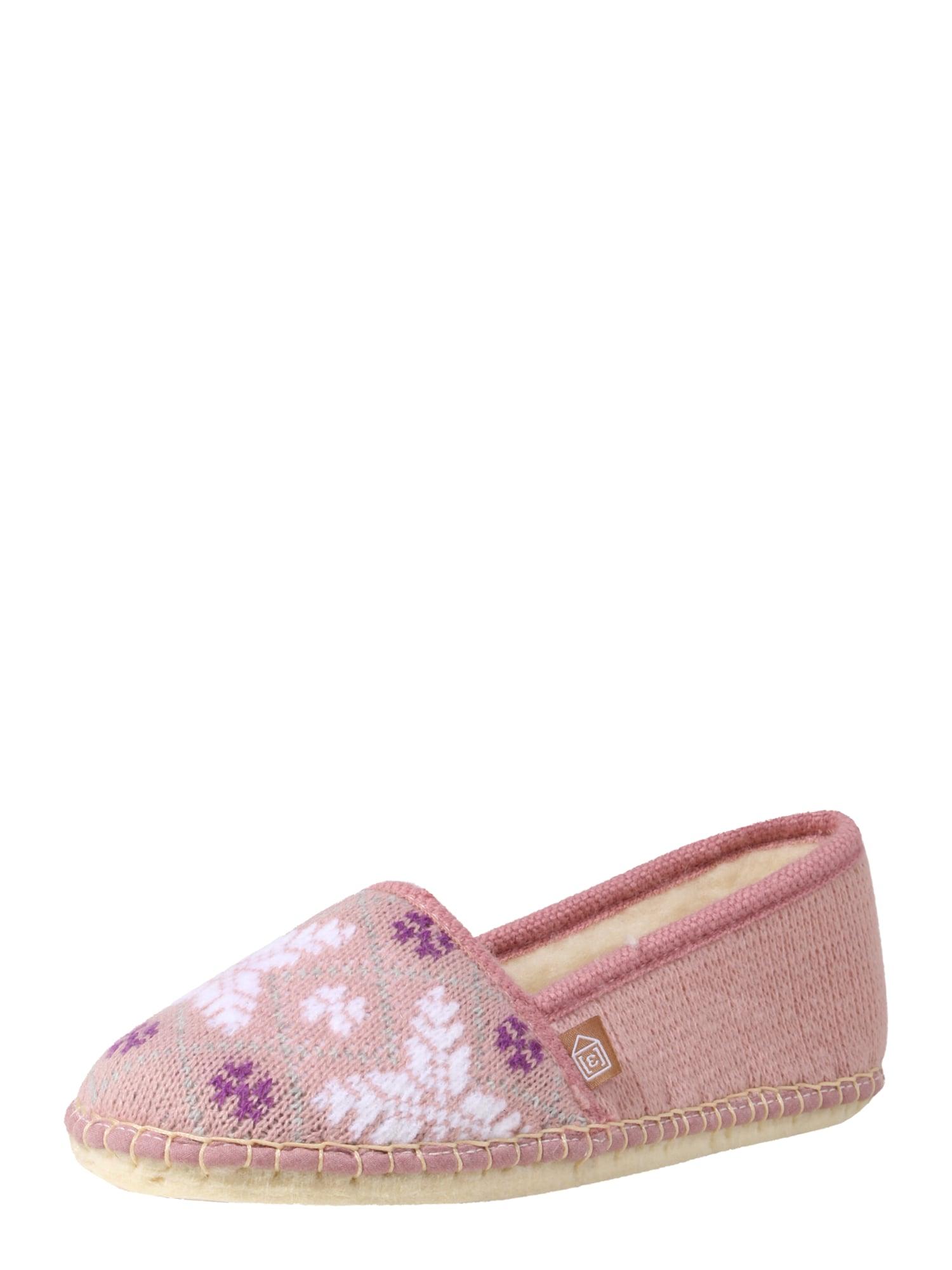 Pantofle CLASSIC růže bílá Espadrij L´originale