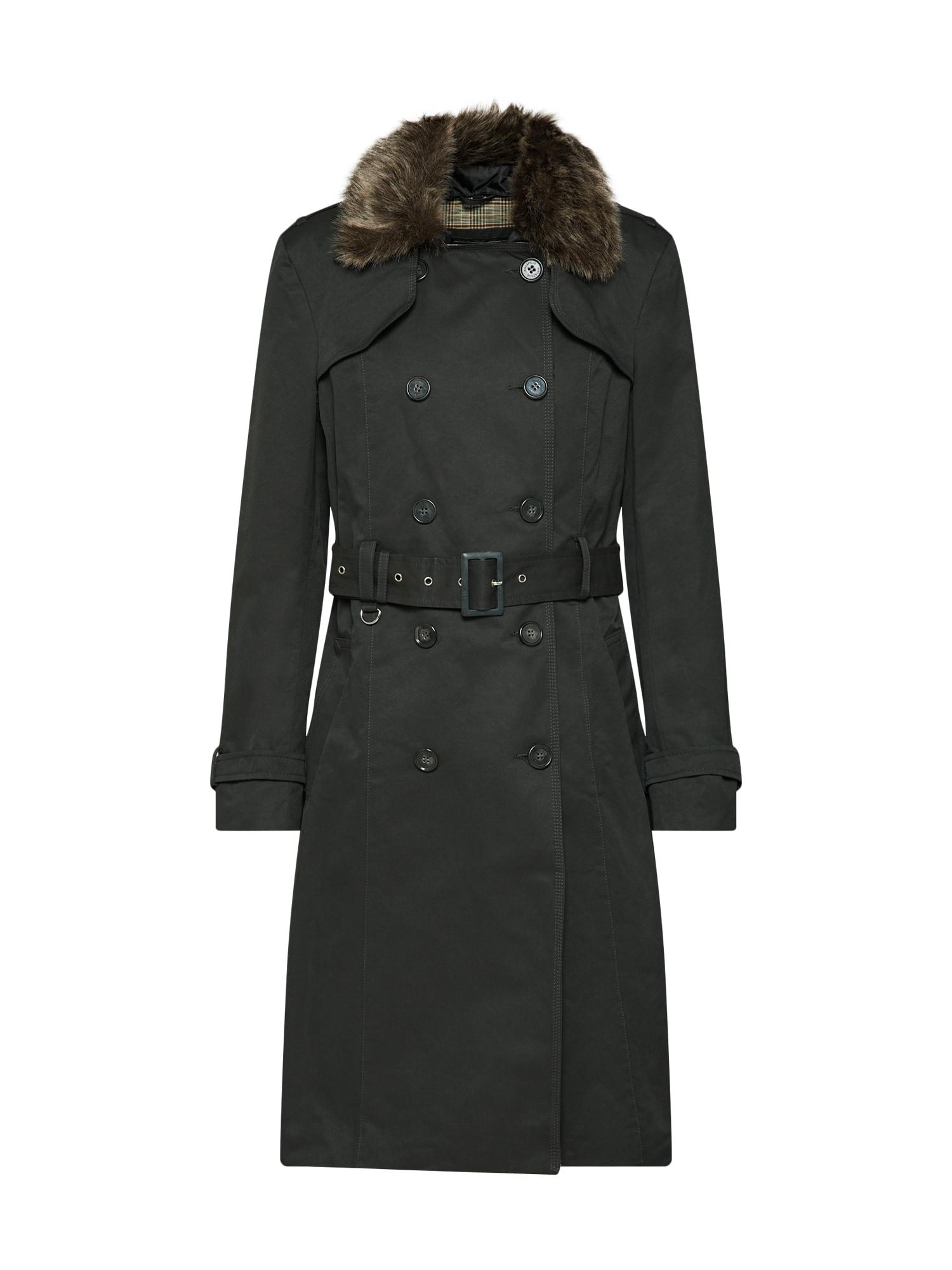 Přechodný kabát hnědá jedle RINO & PELLE