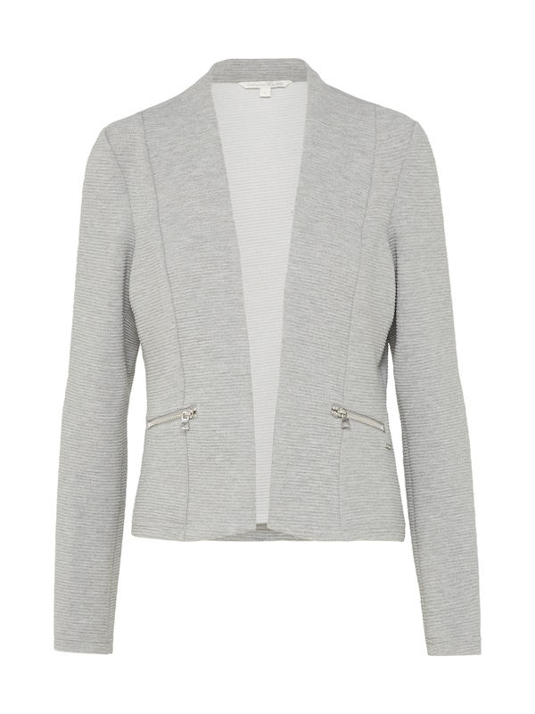 TOM TAILOR DENIM Kragenloser Blazer