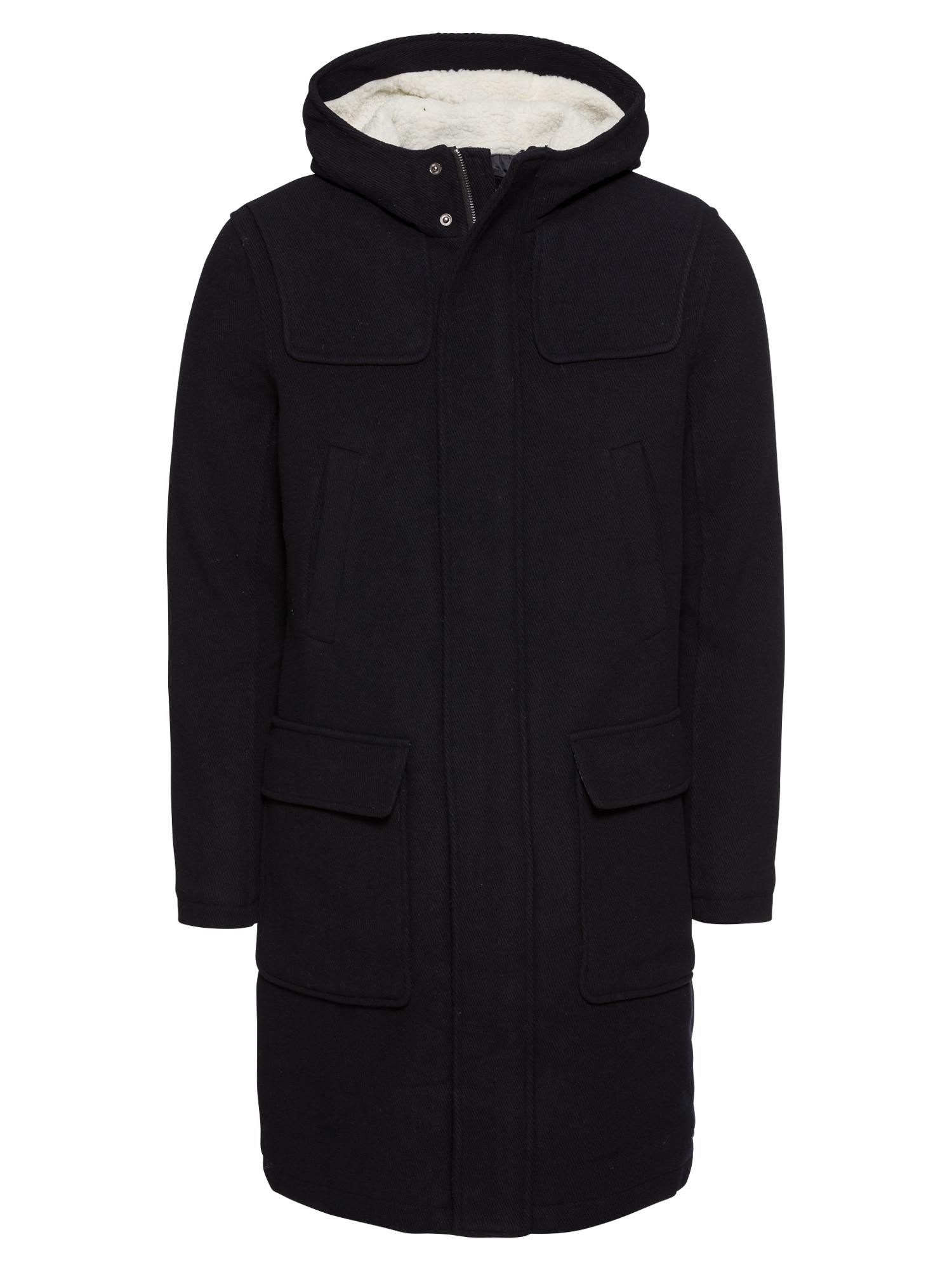 Zimní kabát KM-1018-1020 tmavě modrá KIOMI