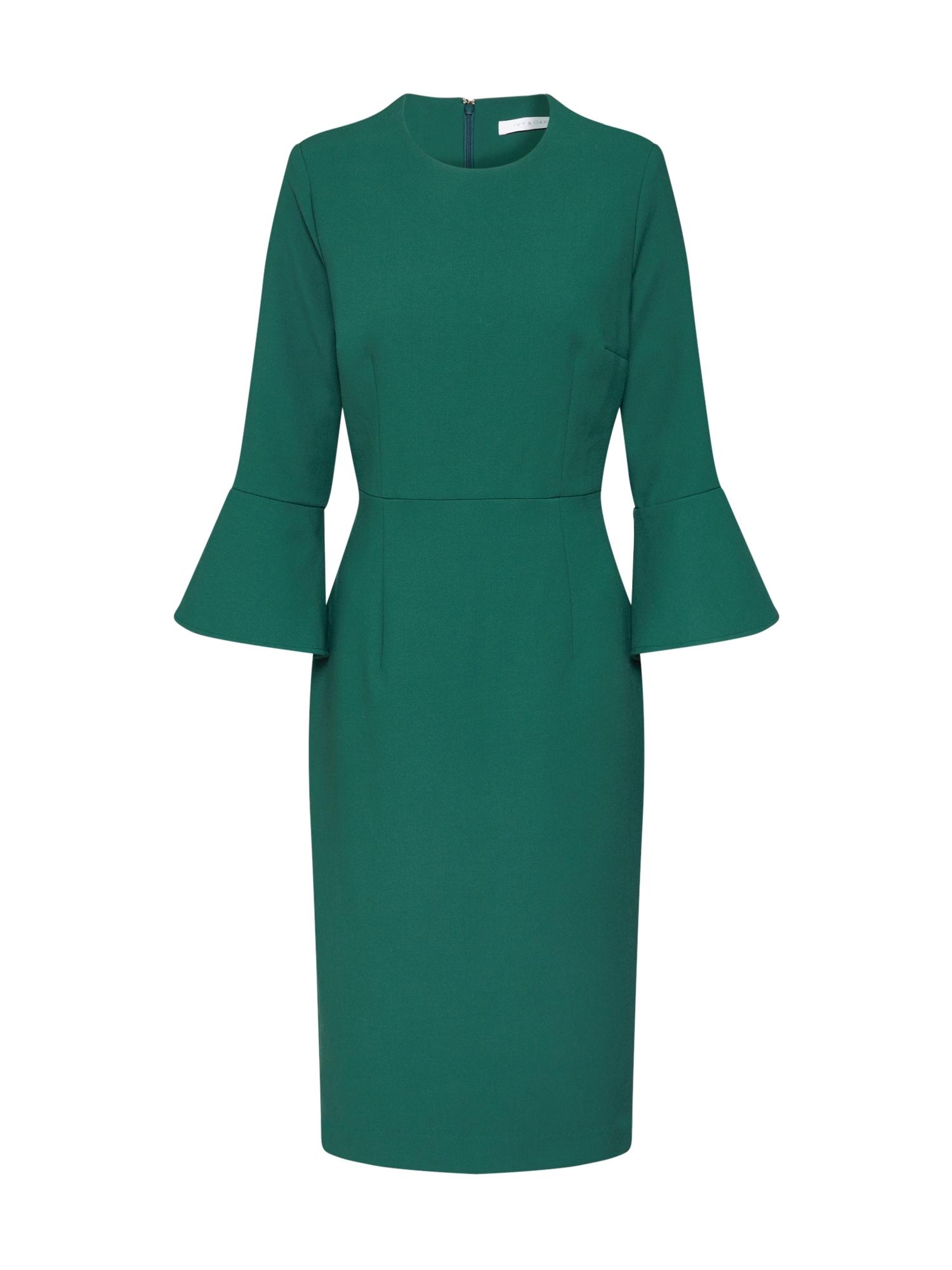 IVY & OAK Koktejlové šaty  zelená