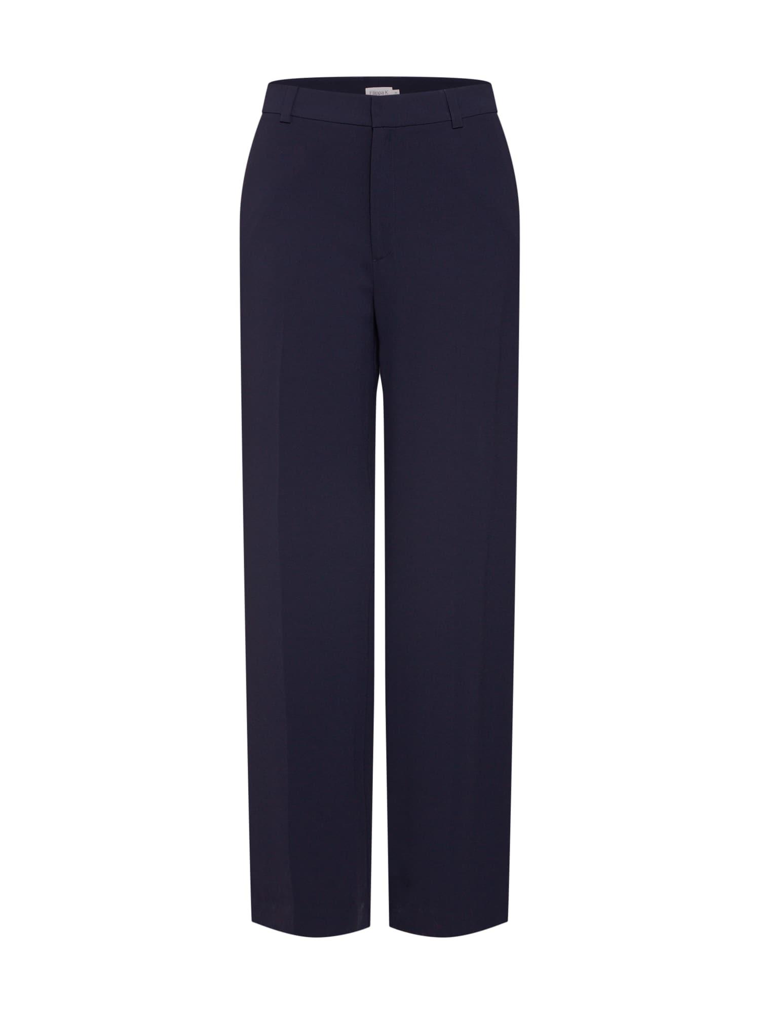 Kalhoty s puky námořnická modř Filippa K