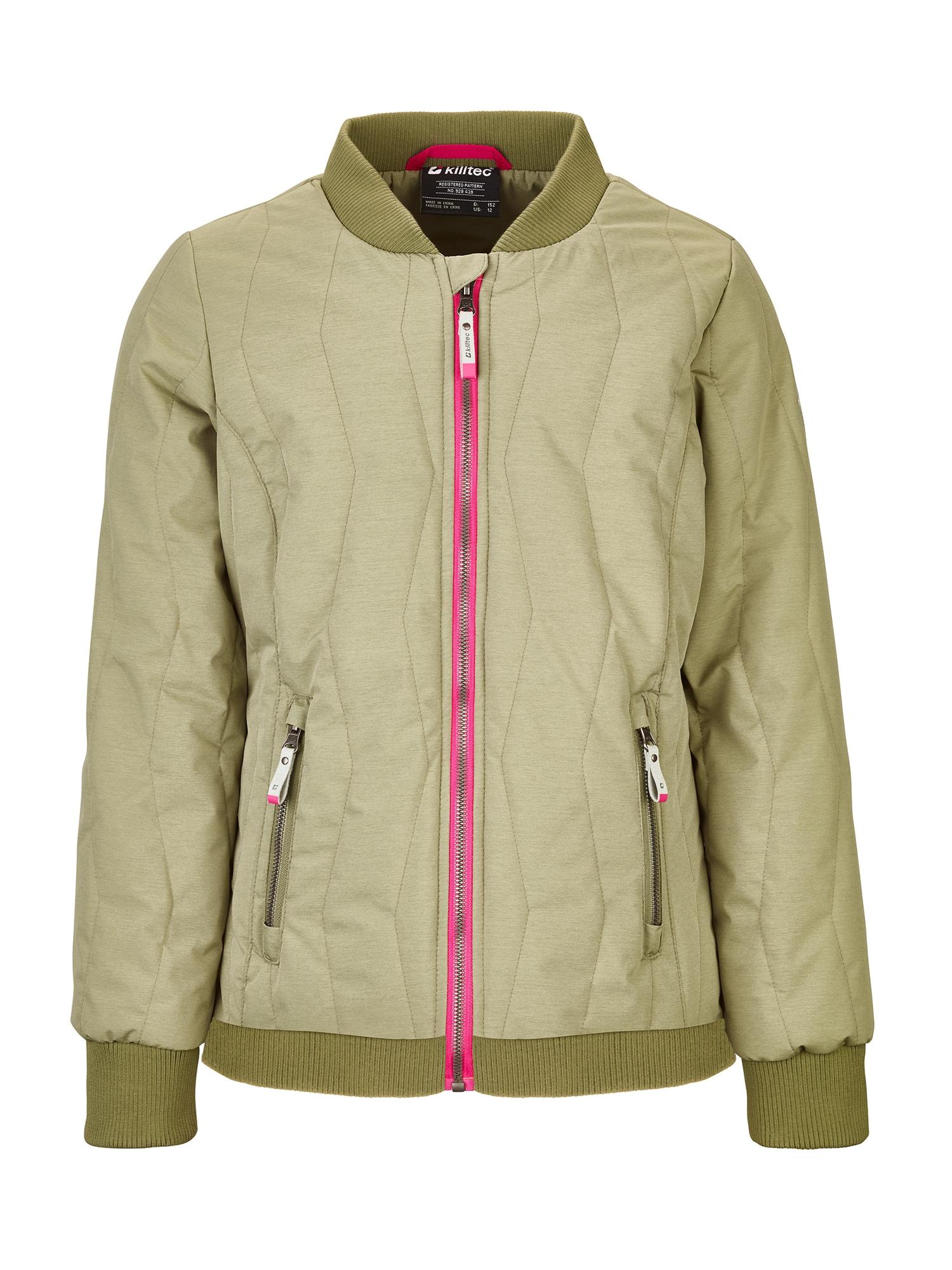 Funkční bunda Varya khaki pink KILLTEC