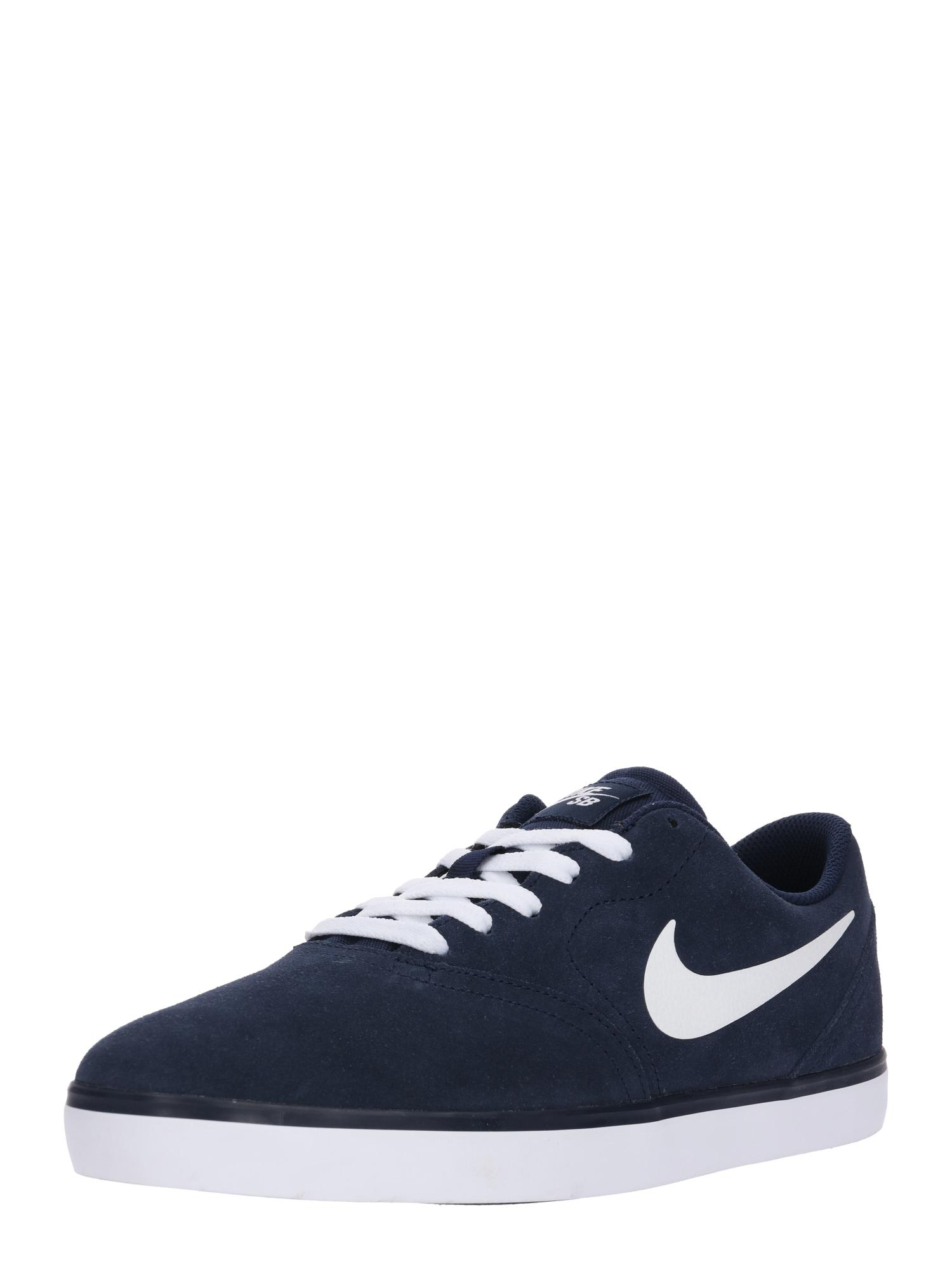 Tenisky Check námořnická modř Nike SB