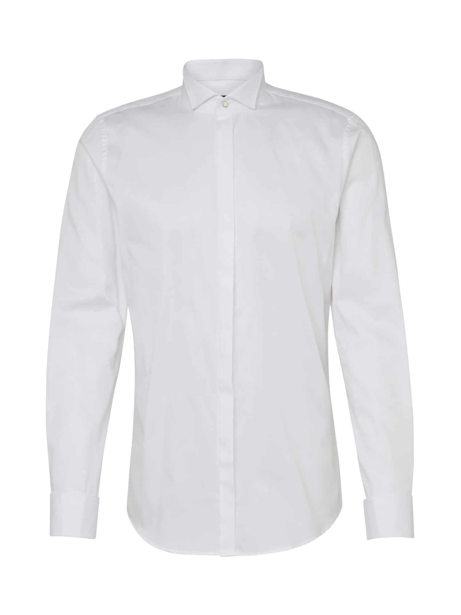 JOOP! Společenská košile 'JSH-26Pauly'  bílá