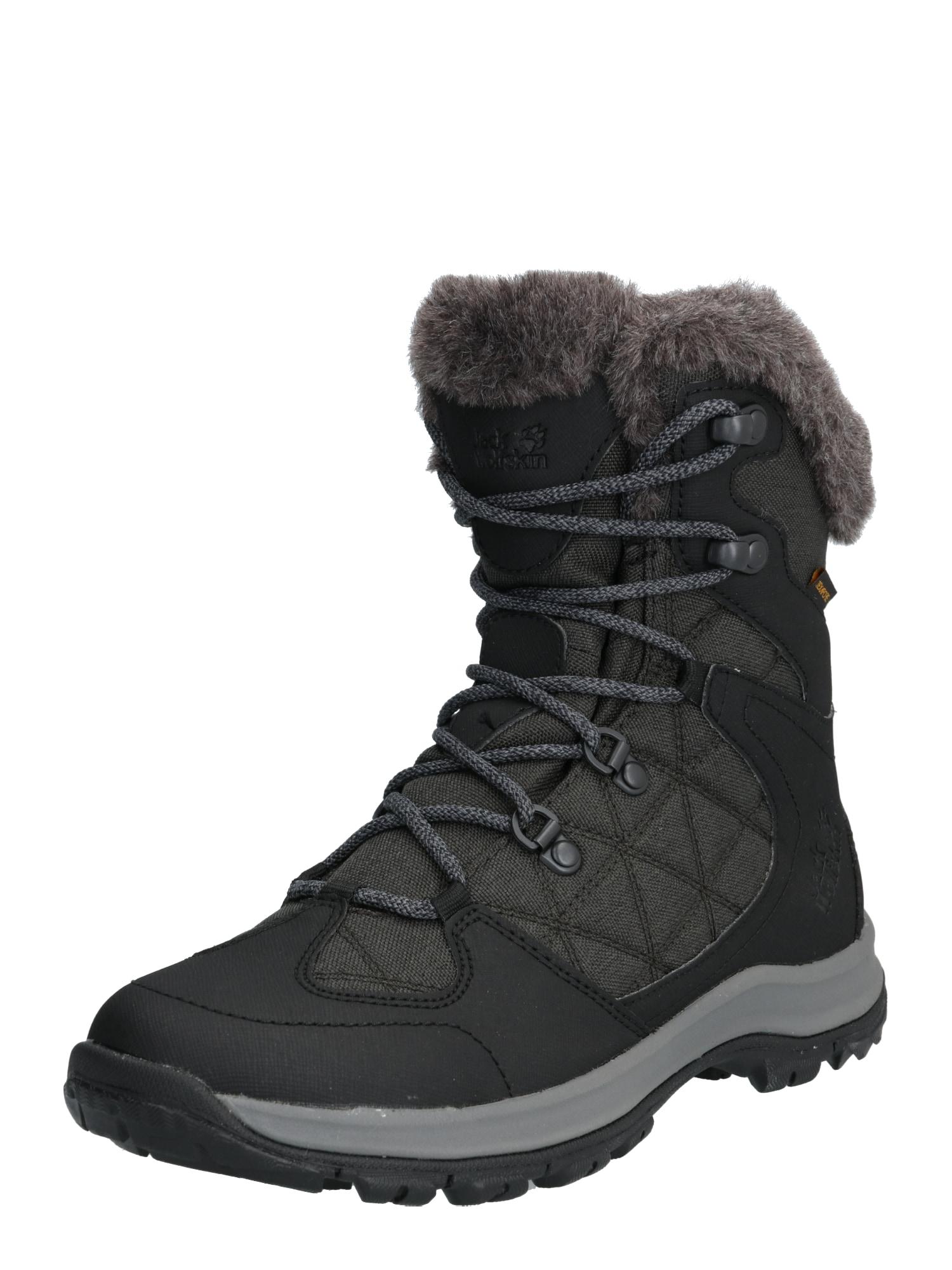 Outdoorwinterstiefel 'Thunder Bay Texapore Mid' | Schuhe > Outdoorschuhe > Outdoorwinterstiefel | Anthrazit - Schwarz | Jack Wolfskin