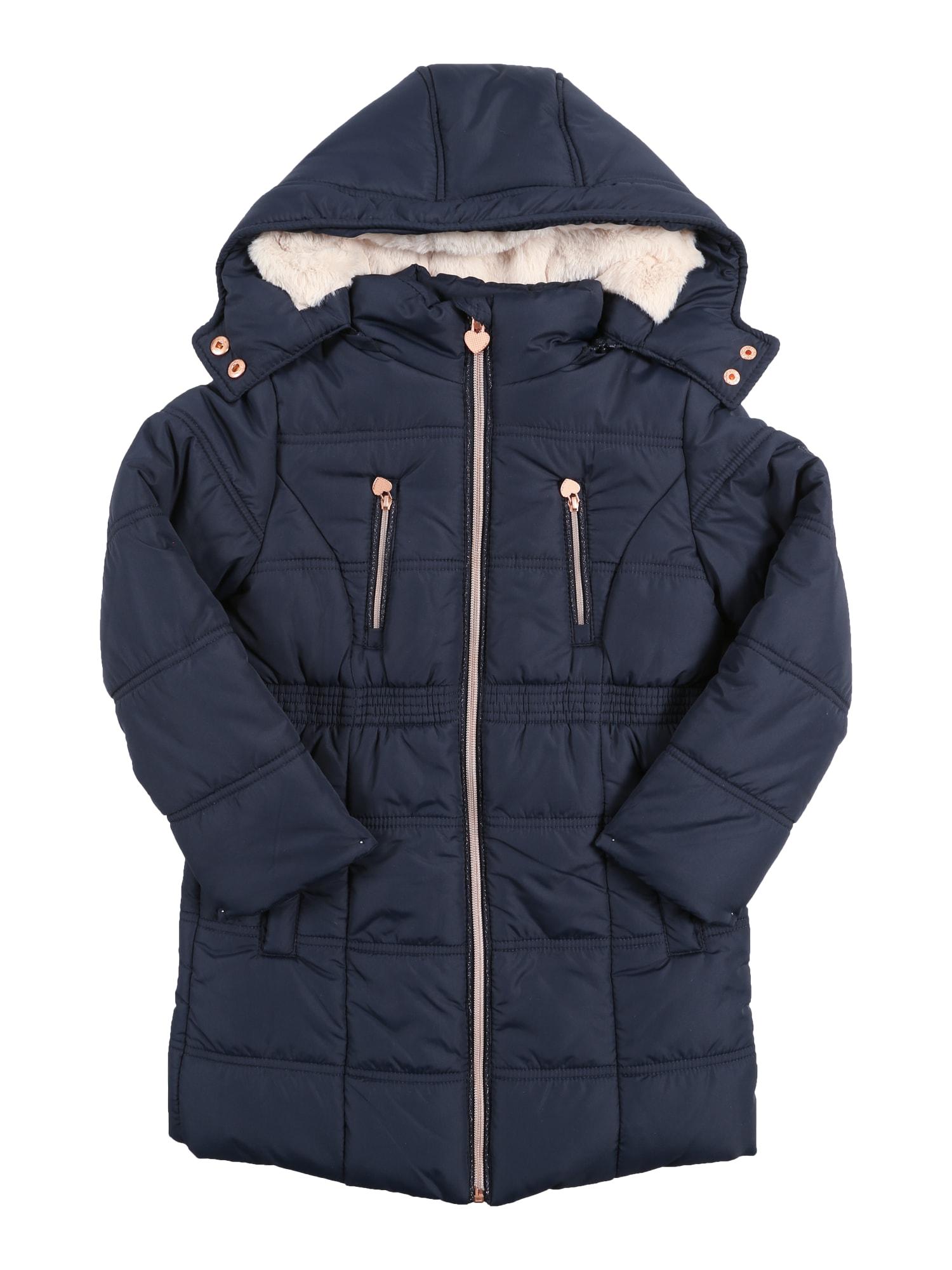 Kabát námořnická modř růžově zlatá REVIEW FOR KIDS