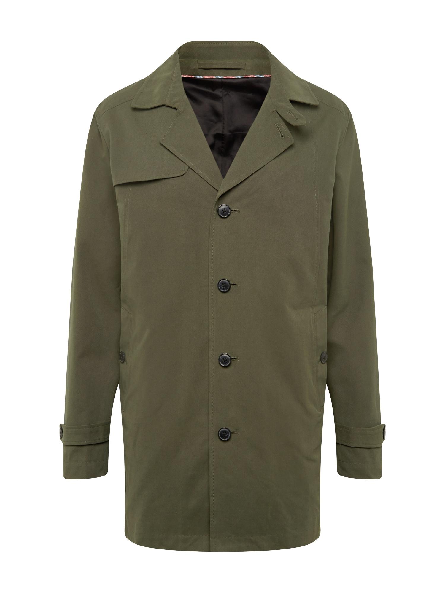 Přechodný kabát Times tmavě zelená SELECTED HOMME