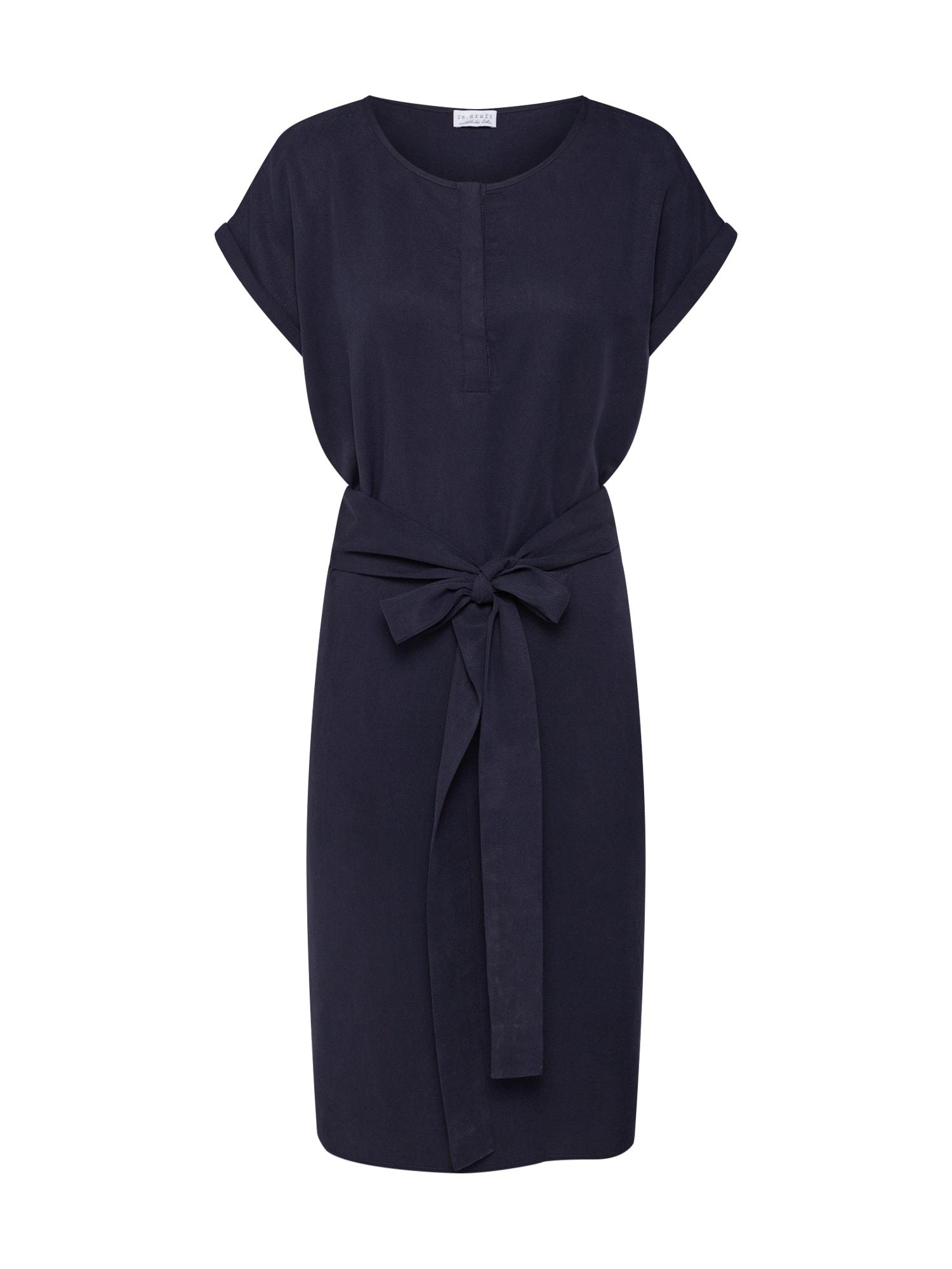 Pouzdrové šaty kobaltová modř Re.draft