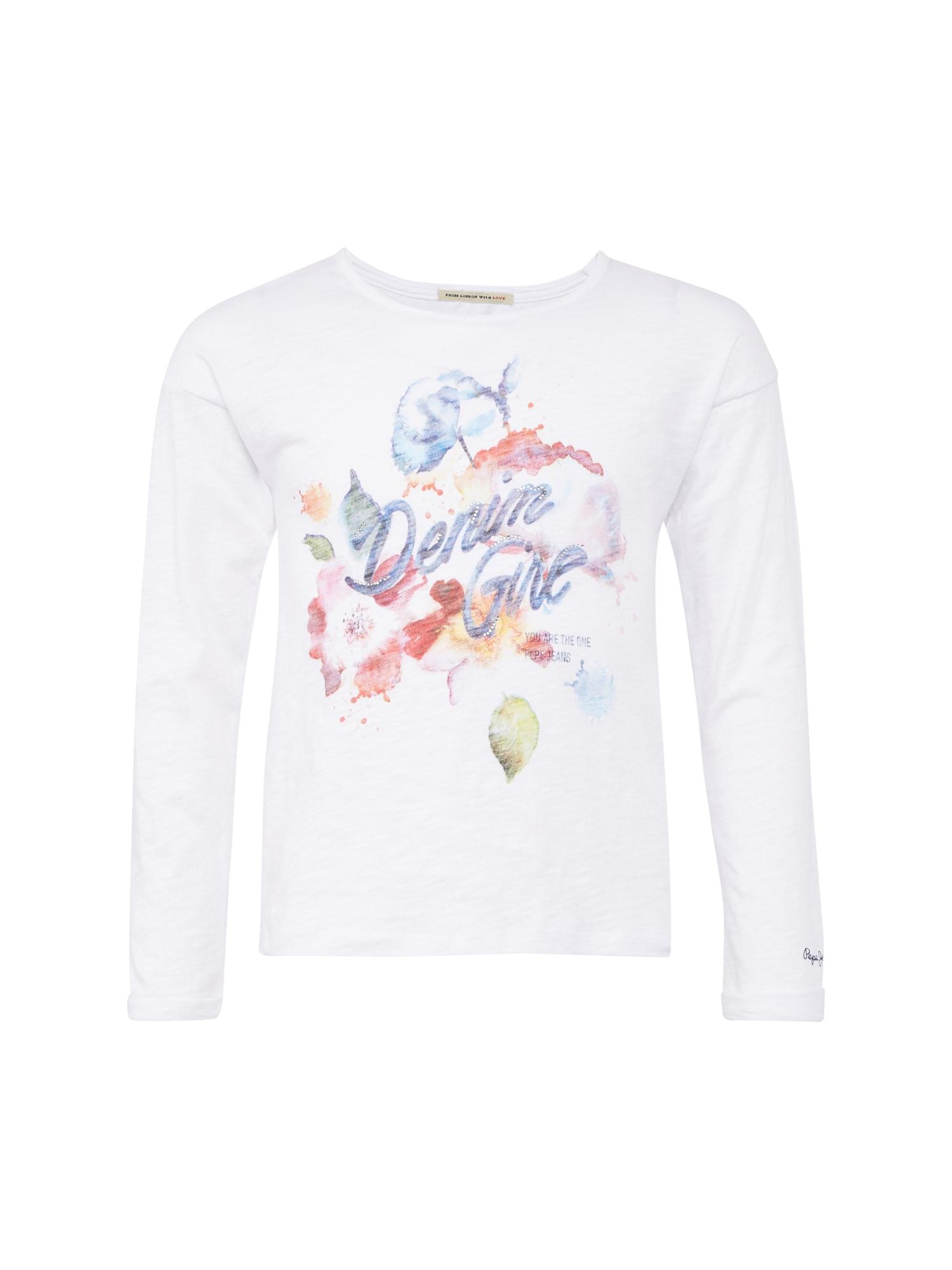 Pepe Jeans Meisjes Shirt ADALIE wit