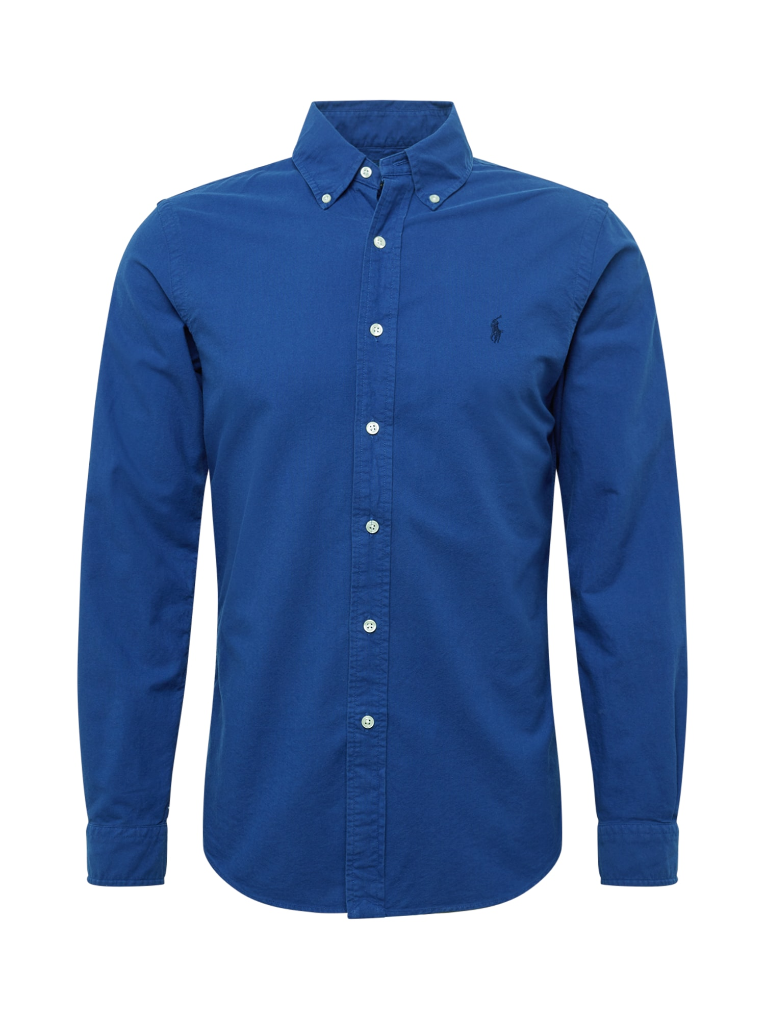 Košile GD OXFORD-SL BD PPC SPT tmavě modrá POLO RALPH LAUREN