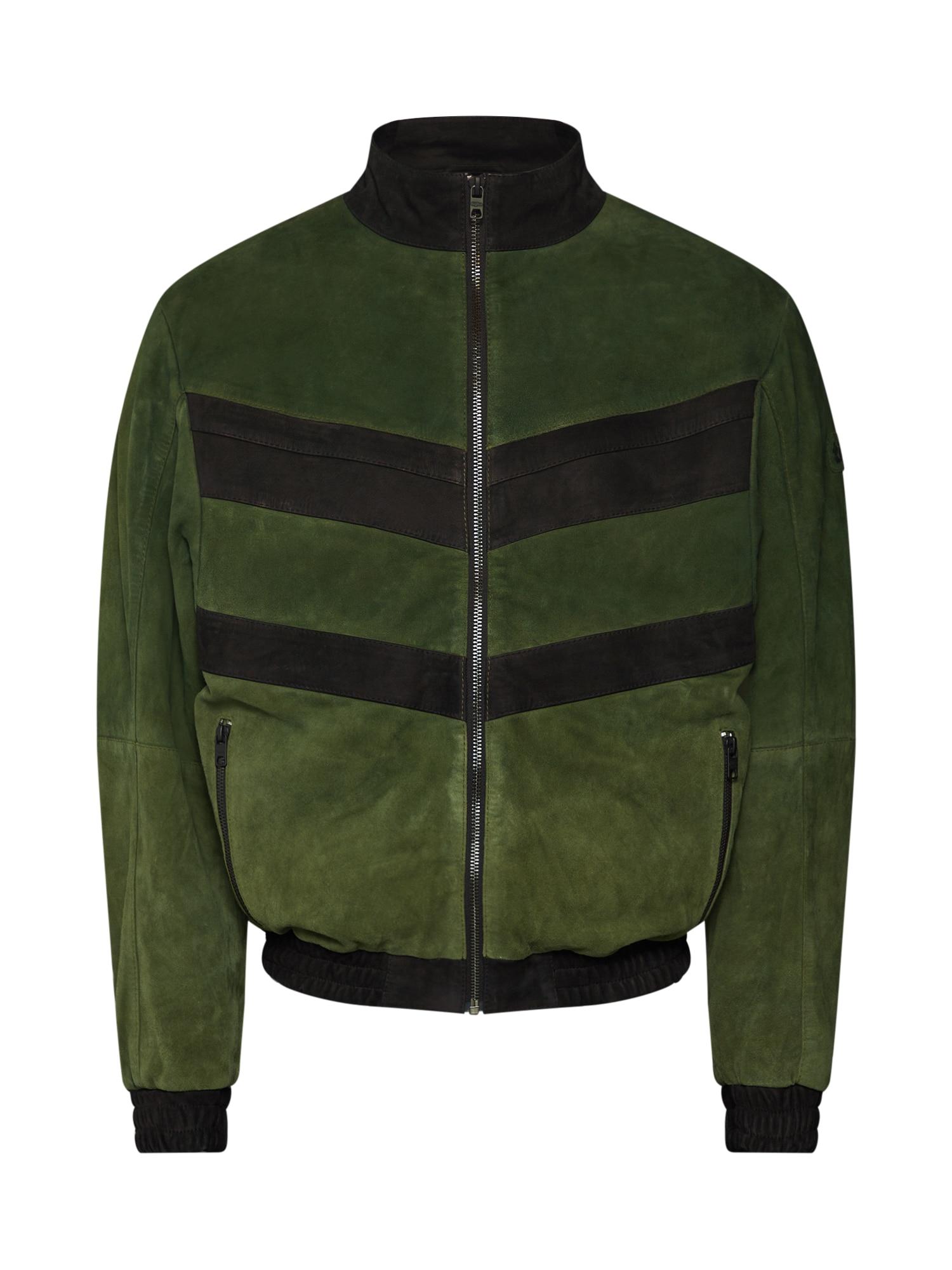 Přechodná bunda Taavi zelená černá Tigha