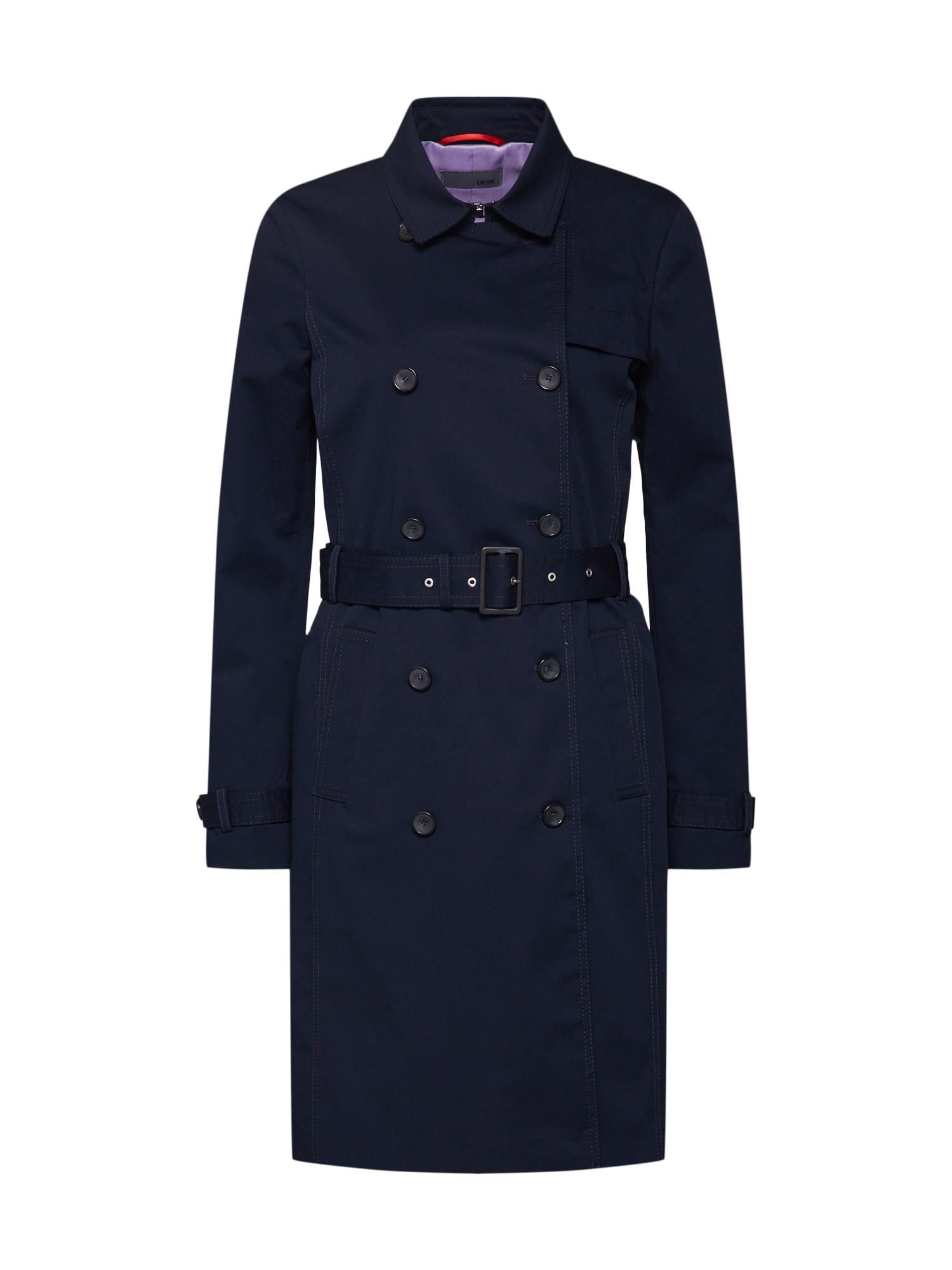 Zimní kabát námořnická modř CINQUE