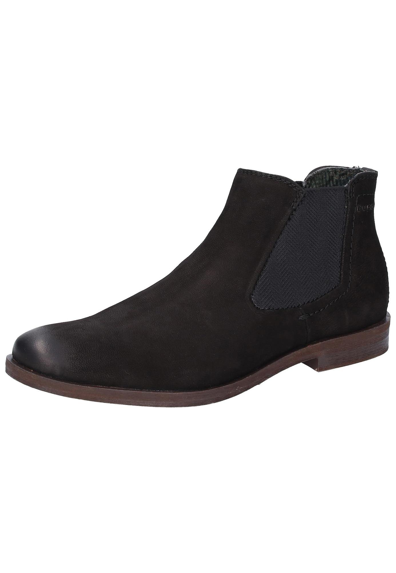 Chelsea boty Abramo černá Bugatti