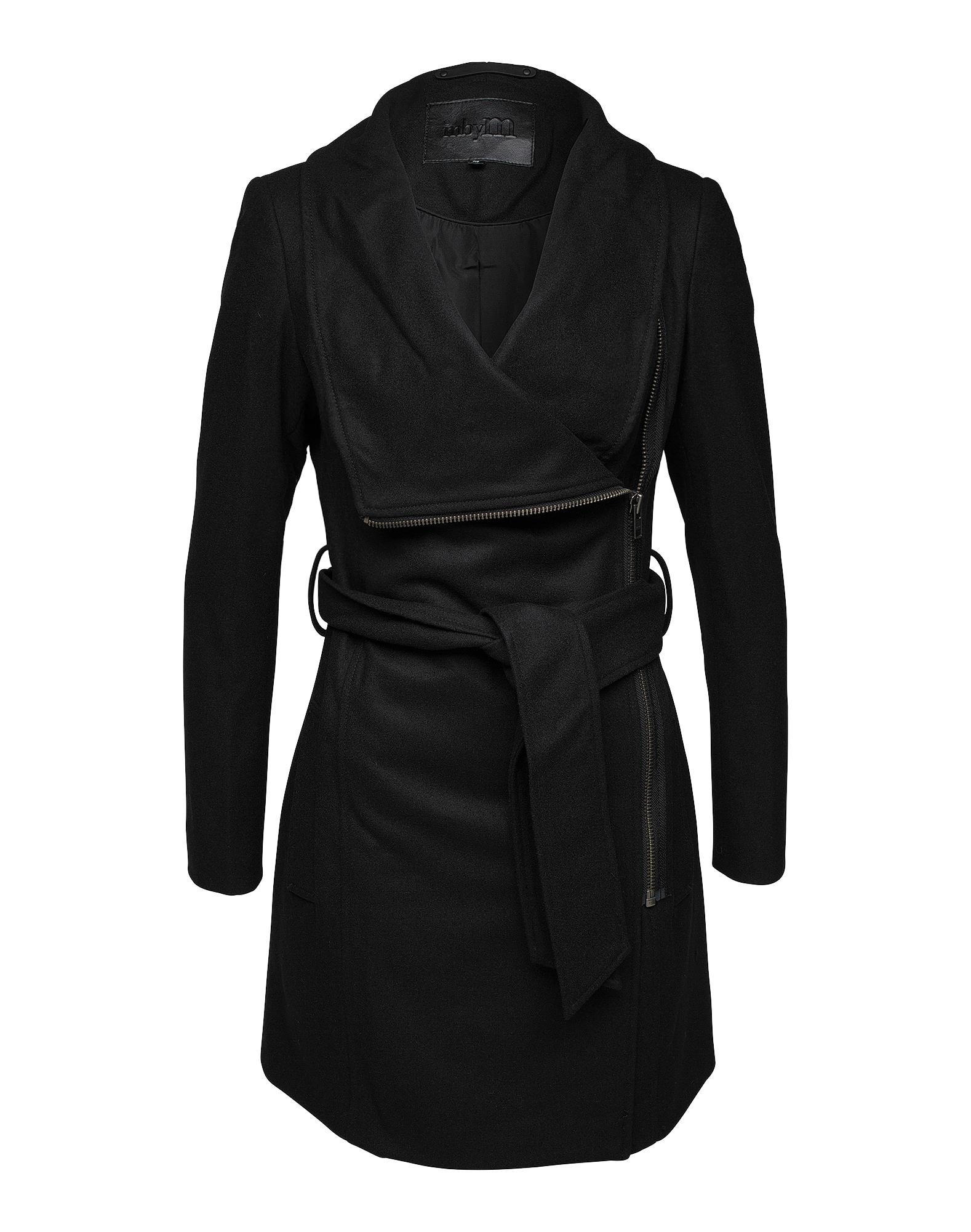 Přechodný kabát Mika černá Mbym