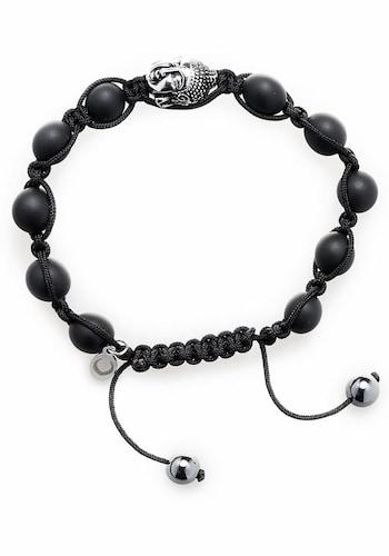 Armband ´Shamballe Buddha black, 1244´