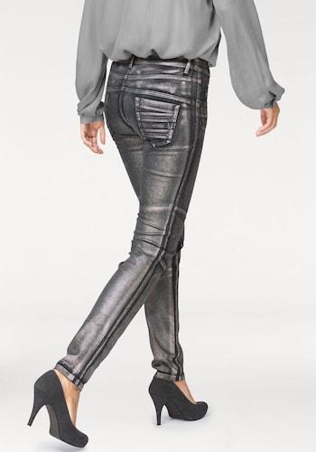 #LAURA #SCOTT #Damen #Röhrenhose #graphit