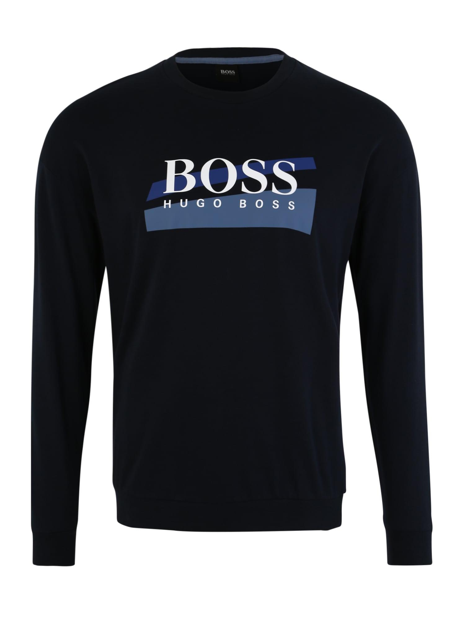 Domácí oblečení námořnická modř bílá BOSS