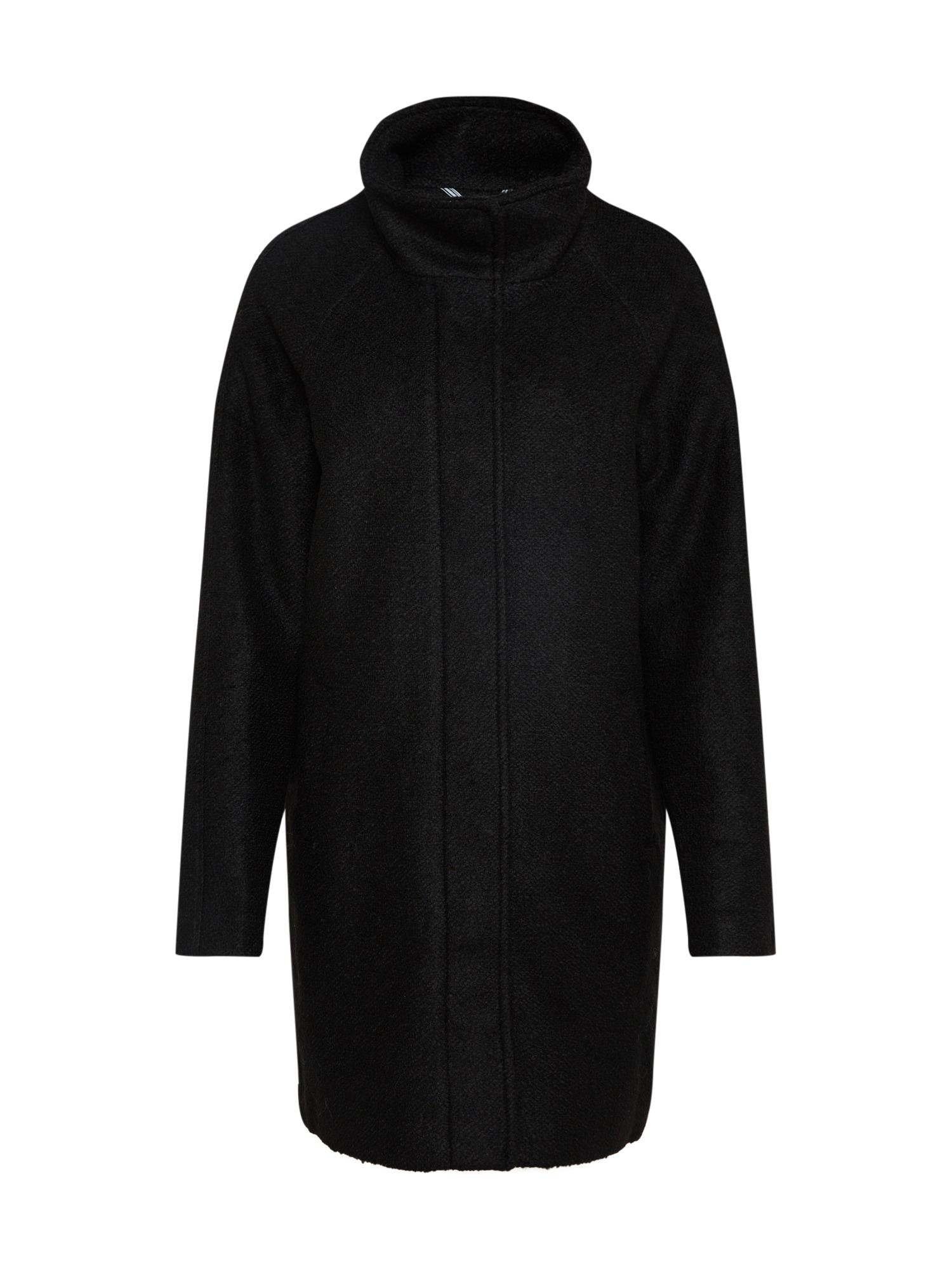 Zimní kabát OBJNORIA černá OBJECT