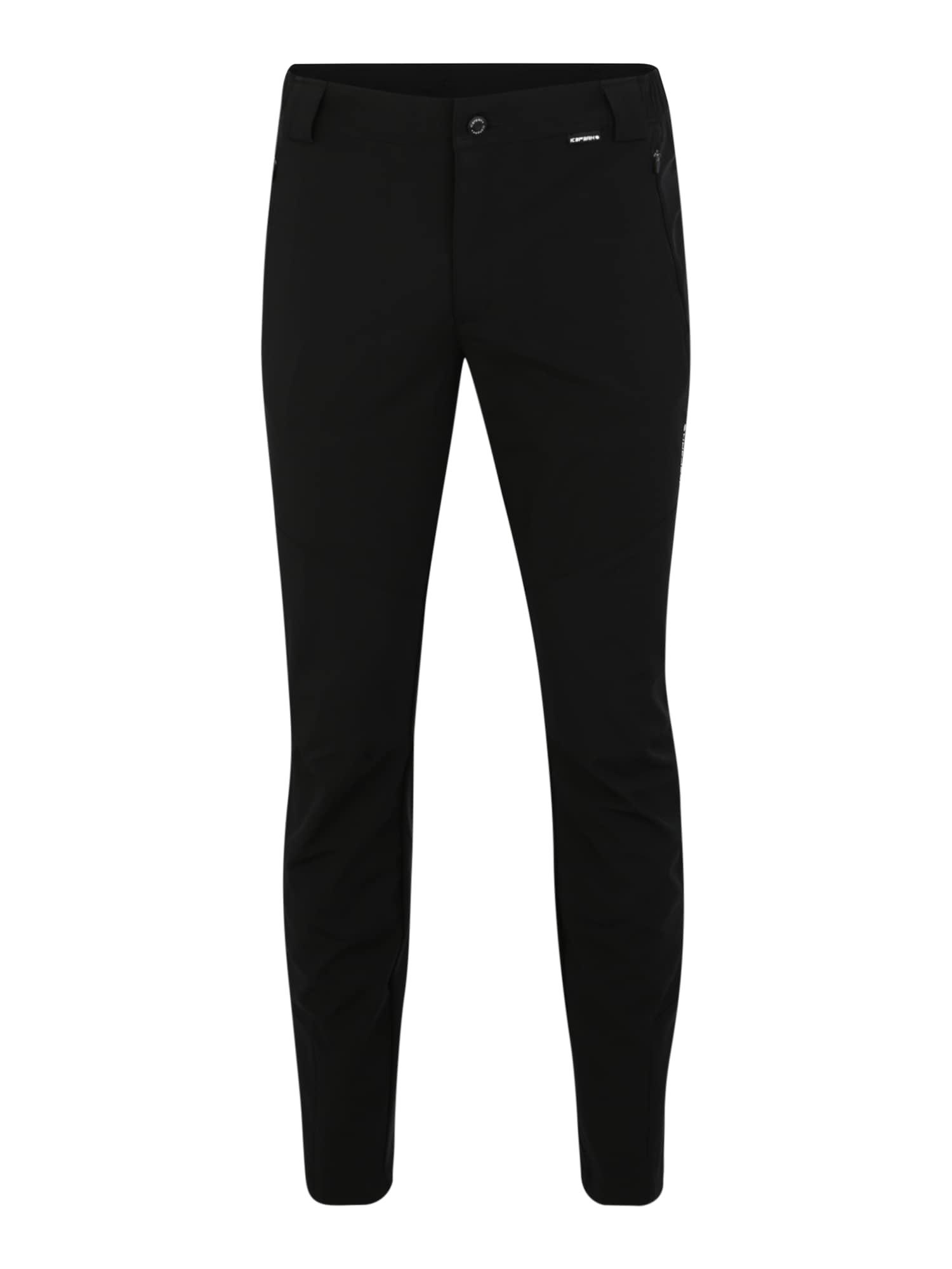 Outdoorové kalhoty LYNDON černá ICEPEAK
