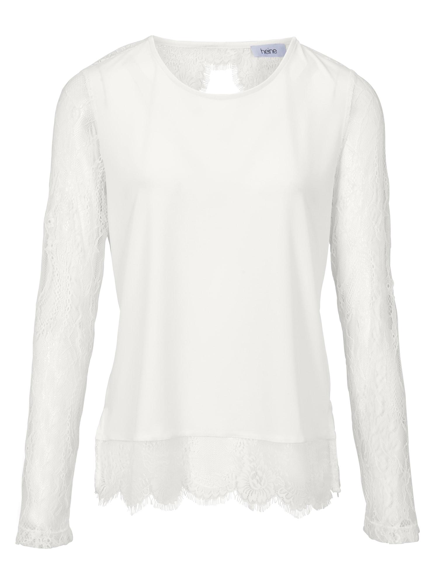 Spitzenshirt | Bekleidung > Shirts > Spitzenshirts | heine