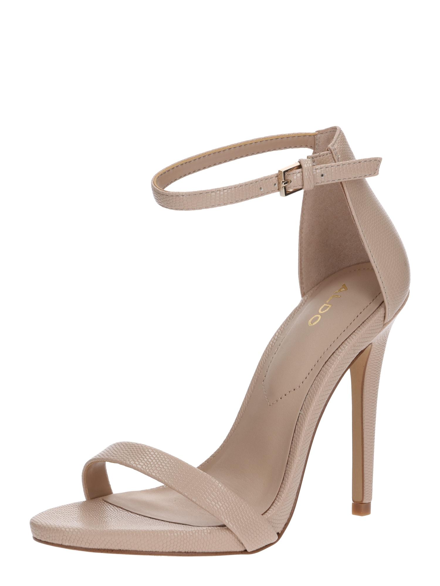 ALDO Remienkové sandále 'CARAA'  béžová