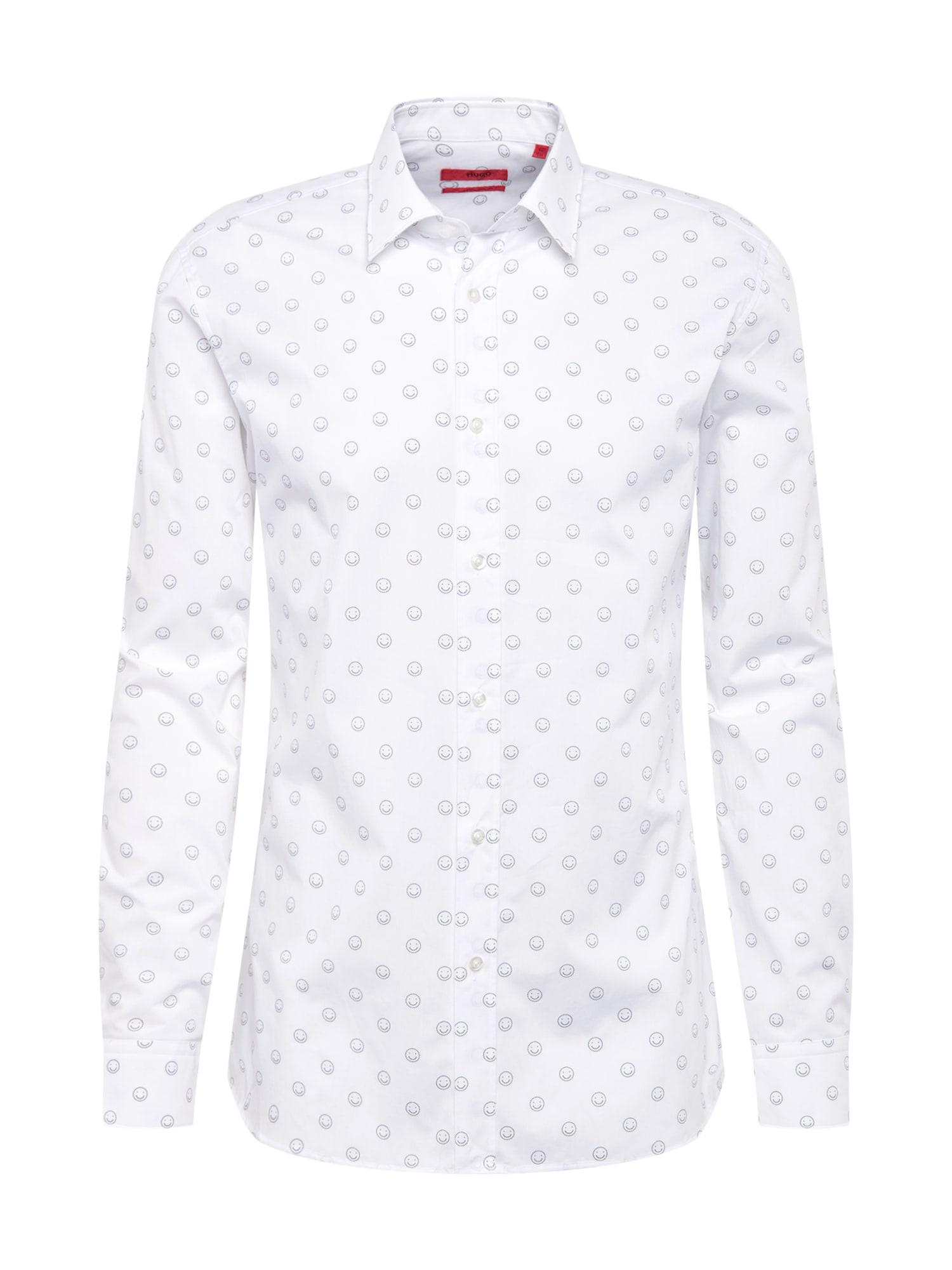 Košile Elisha01 bílá HUGO
