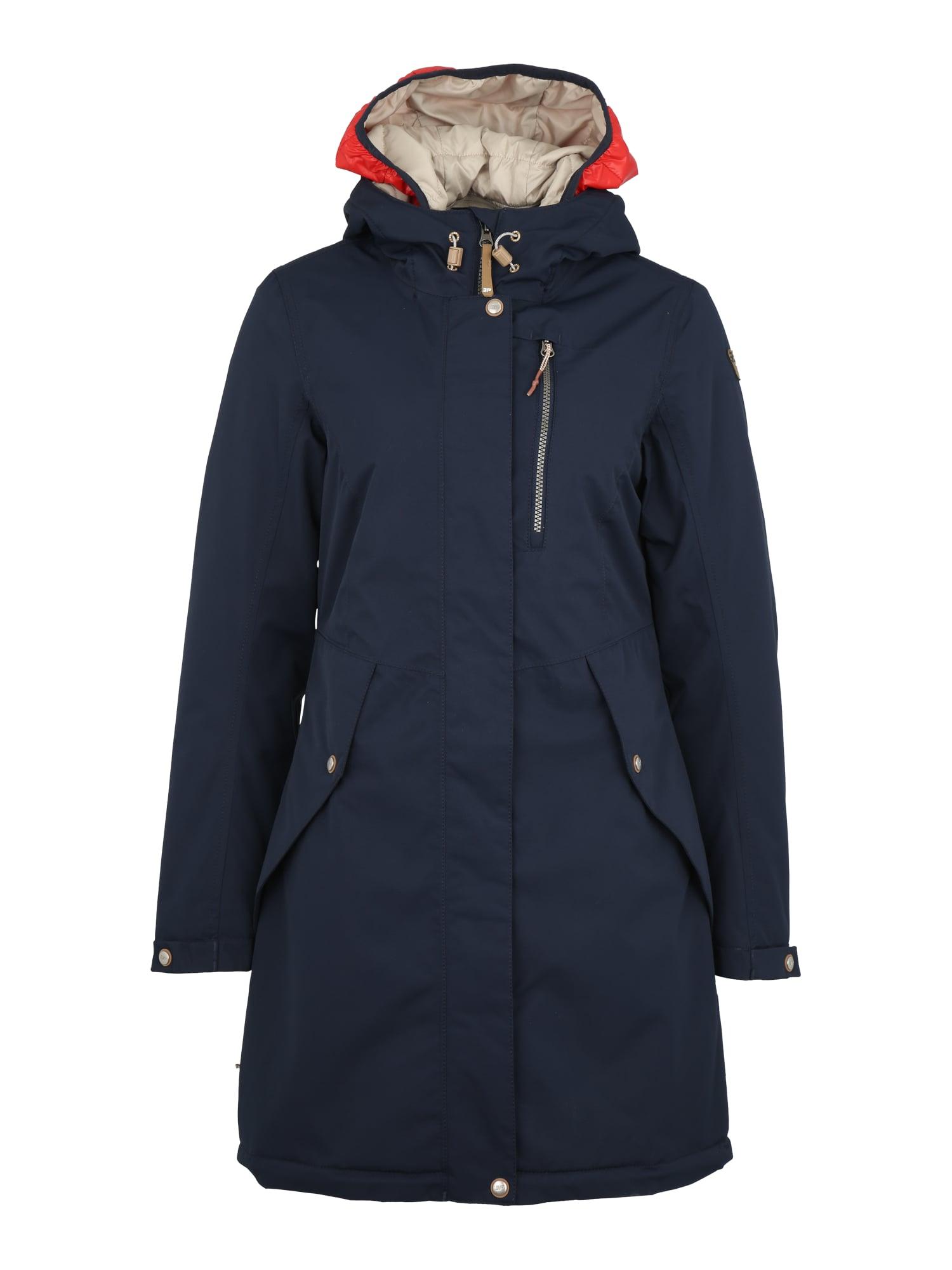 Outdoorová bunda TIANA béžová tmavě modrá světle červená ICEPEAK