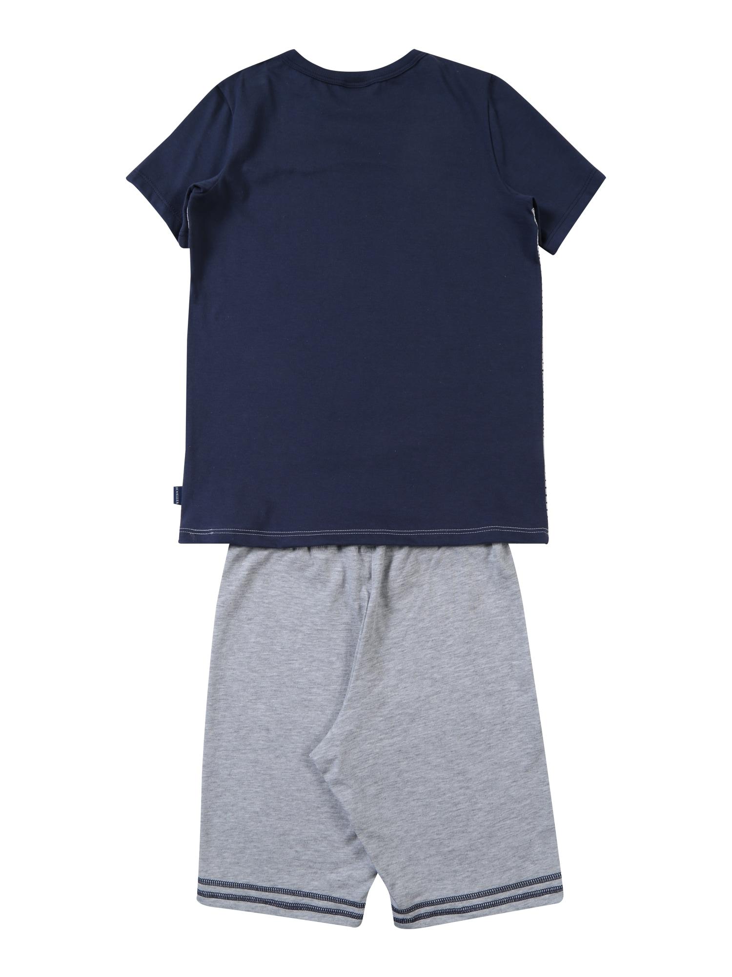 SCHIESSER, Jongens Nachtkledij, blauw - lichtgrijs