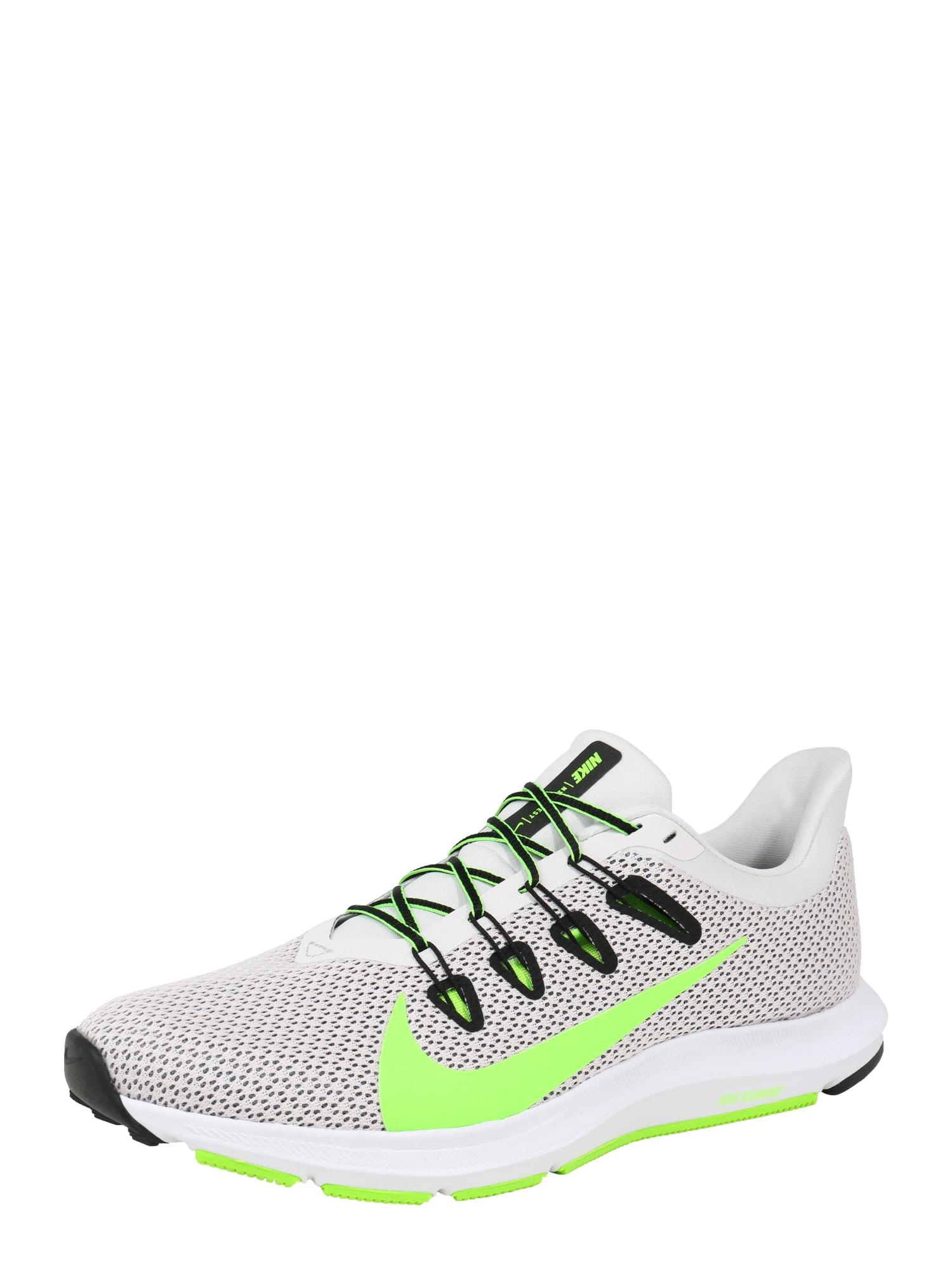 Běžecká obuv QUEST 2 svítivě zelená bílá NIKE