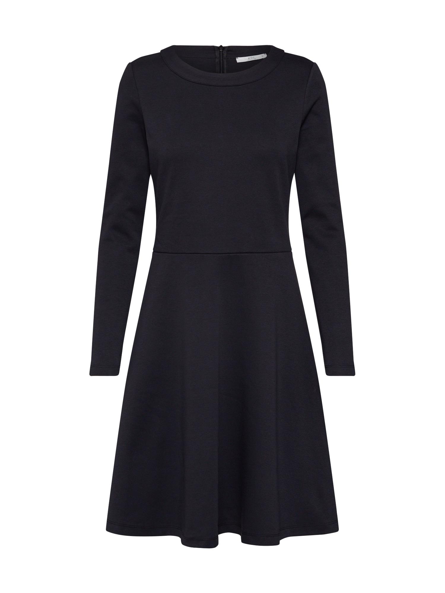EDC BY ESPRIT Šaty  černá