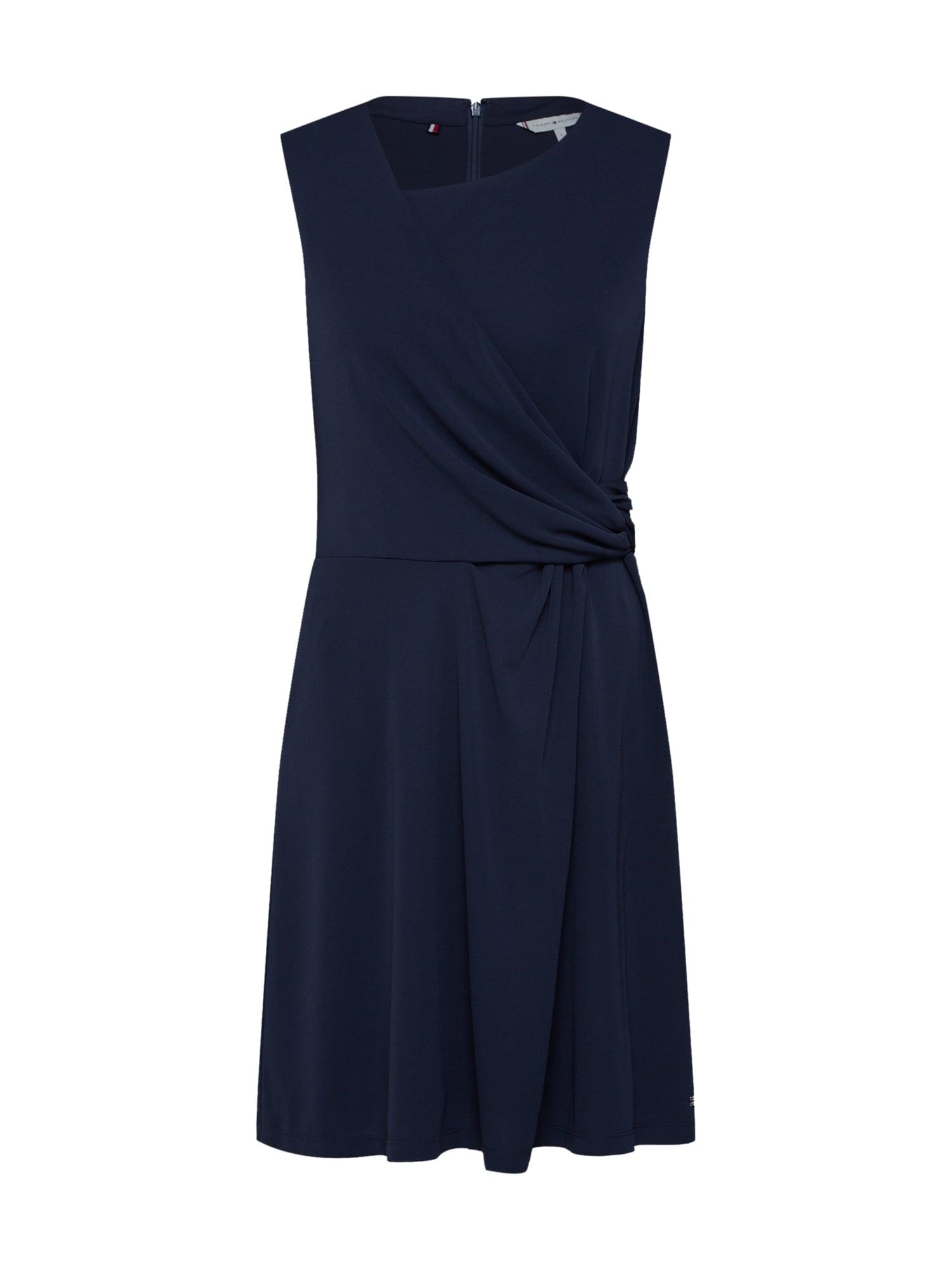 Šaty Barbara námořnická modř TOMMY HILFIGER