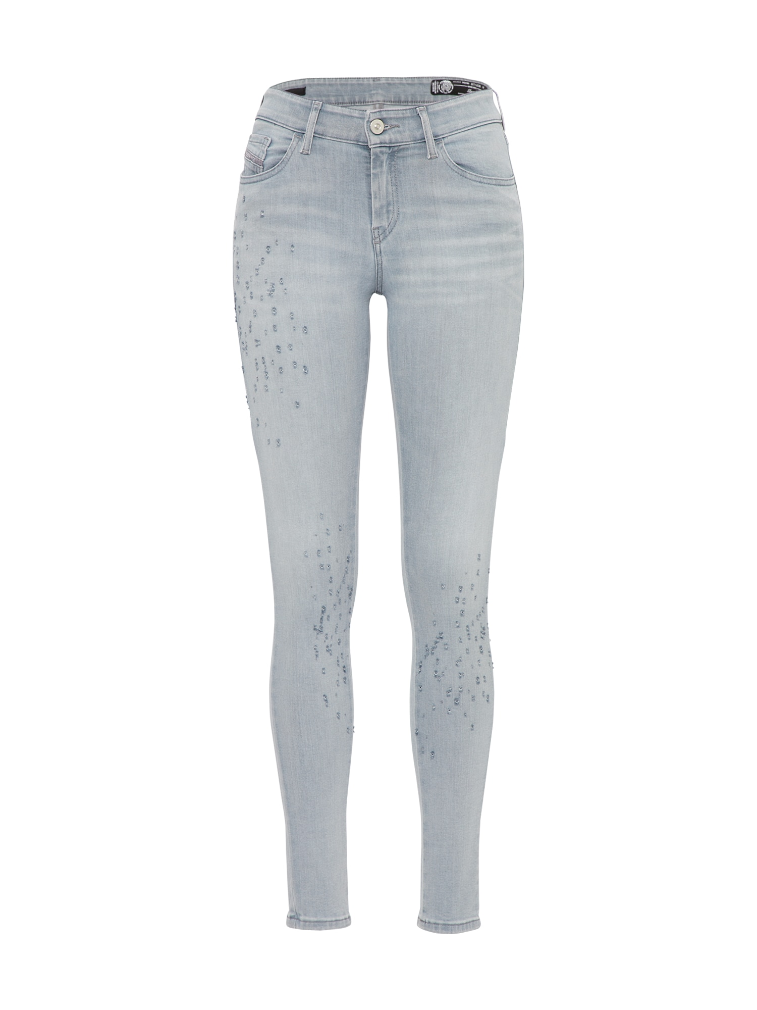 DIESEL Dames Jeans Slandy grey denim