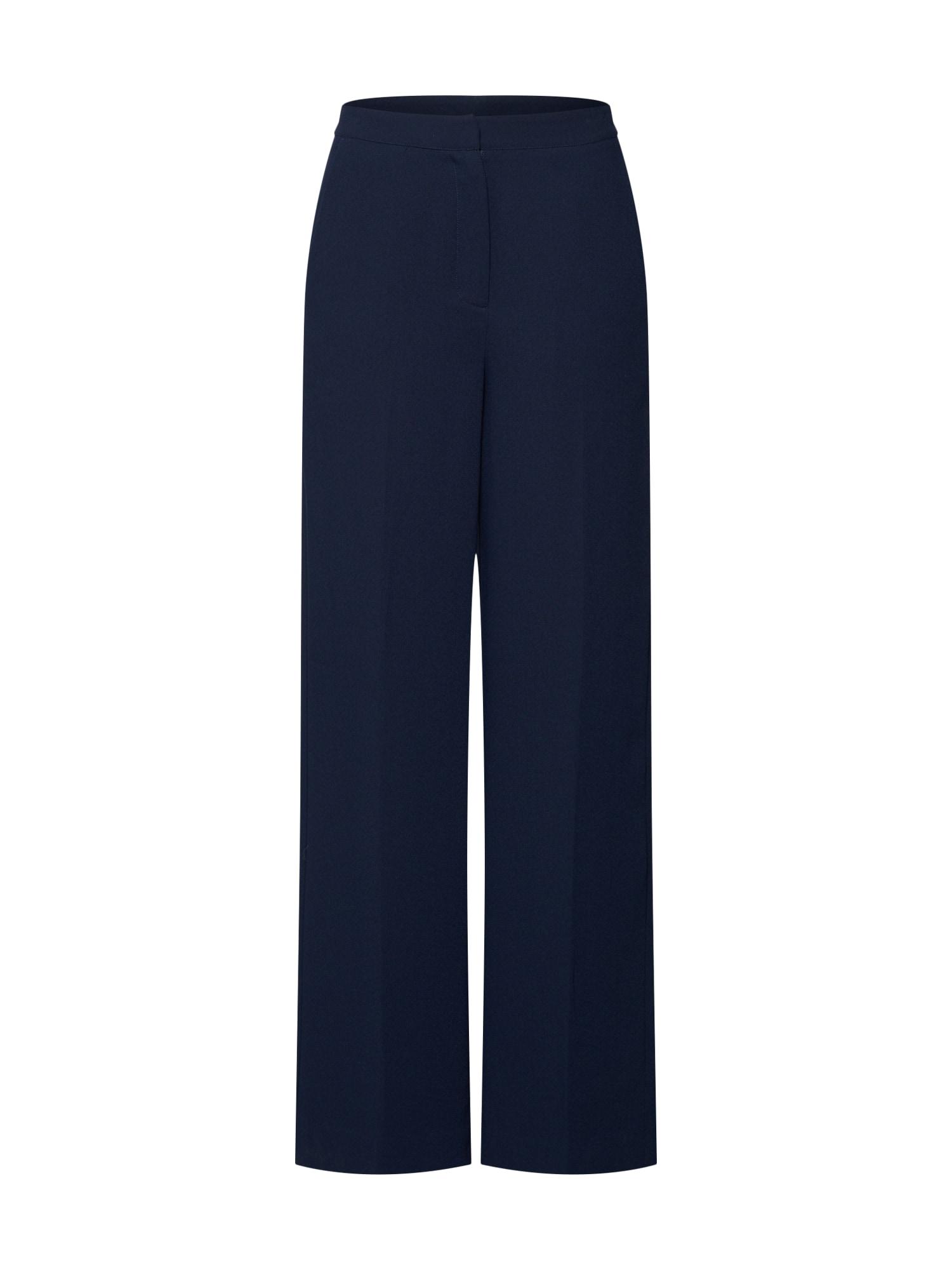 Kalhoty s puky Moore tmavě modrá Another Label