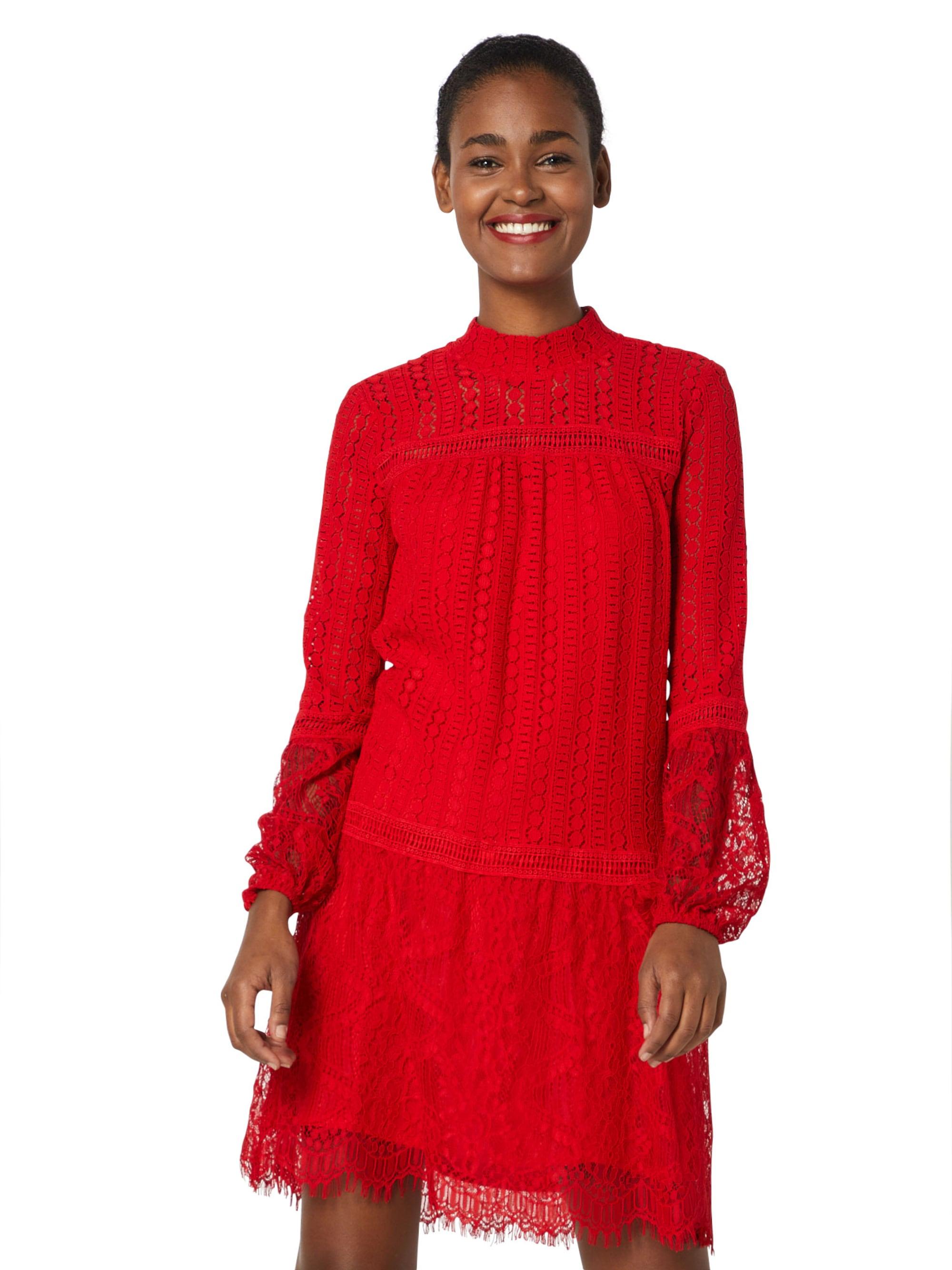 Mbym Sukienka koktajlowa 'Primerose'  czerwony