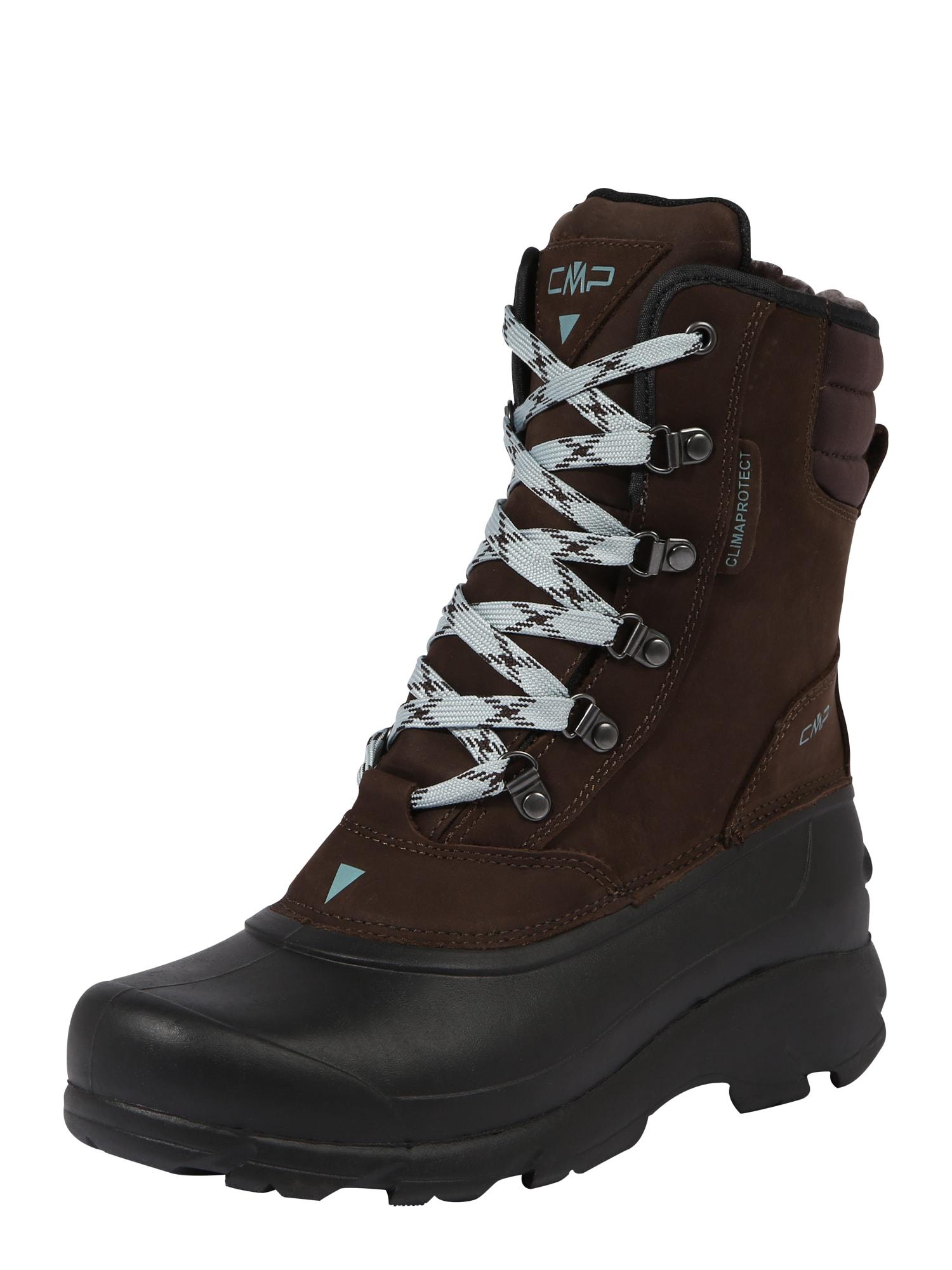 Sportovní boty KINOS 2.0 světlemodrá kaštanově hnědá černá CMP