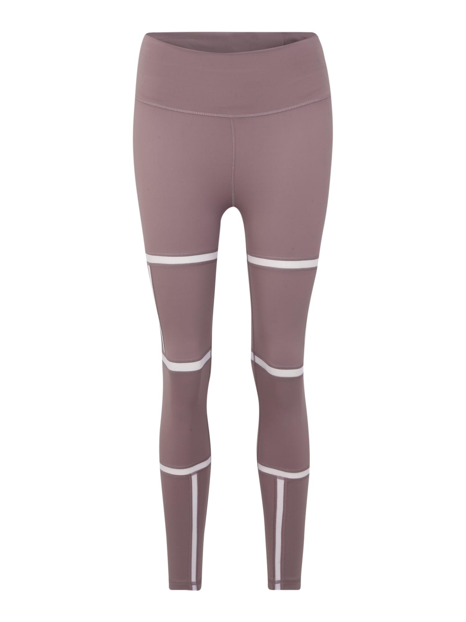 ADIDAS PERFORMANCE Sportovní kalhoty  fialová