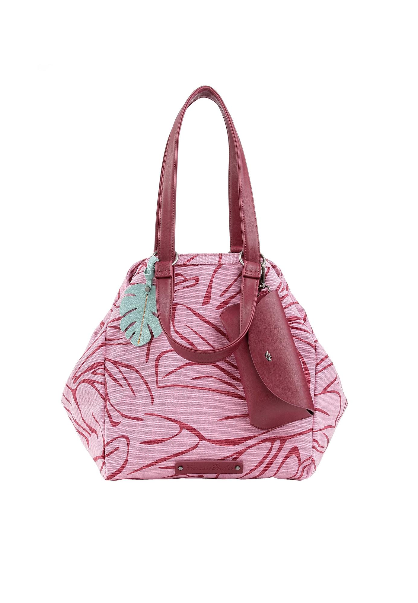 Nákupní taška Venny růžová rubínově červená Fritzi Aus Preußen