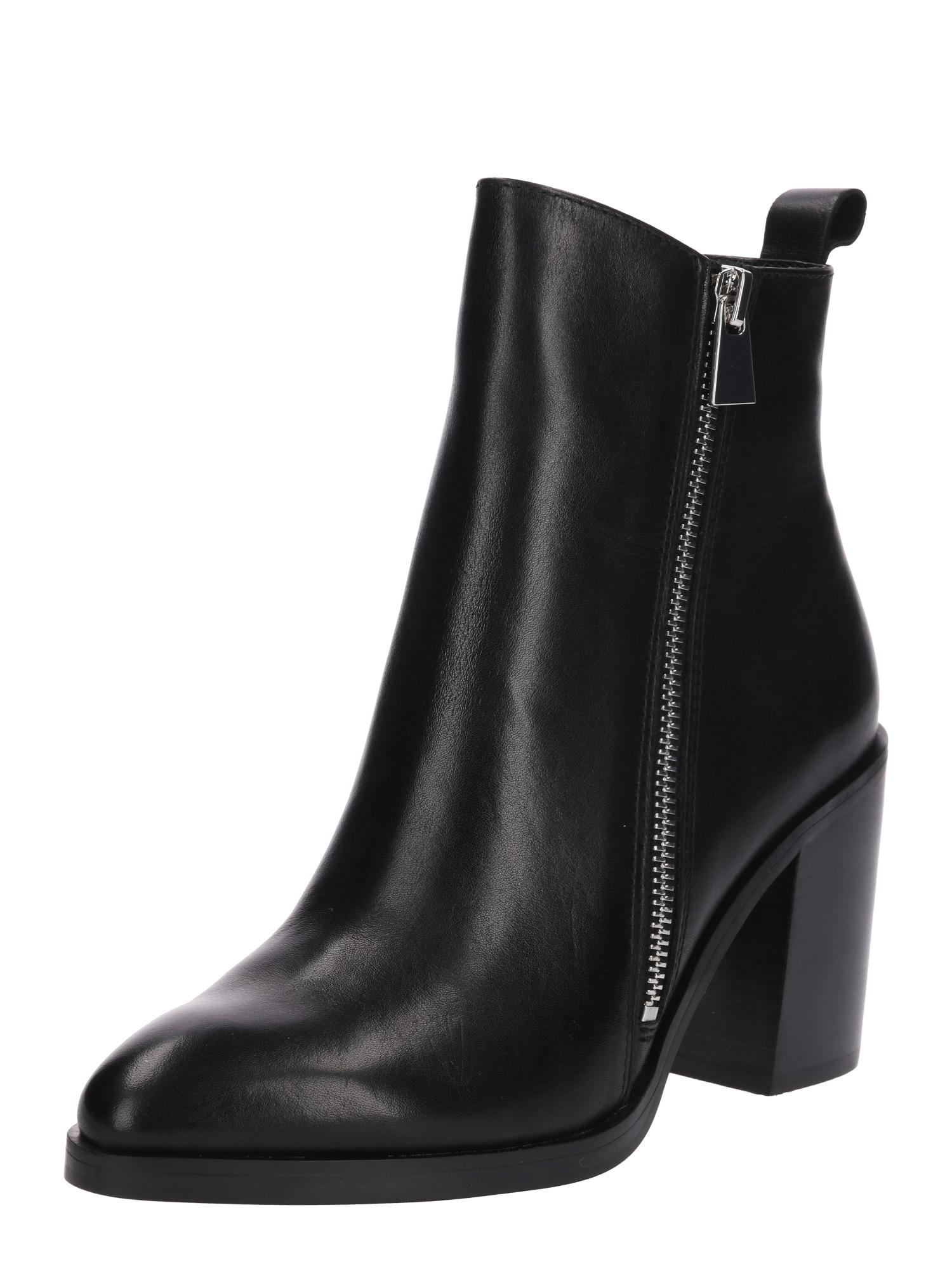 Kotníkové boty TASHA černá STEVE MADDEN