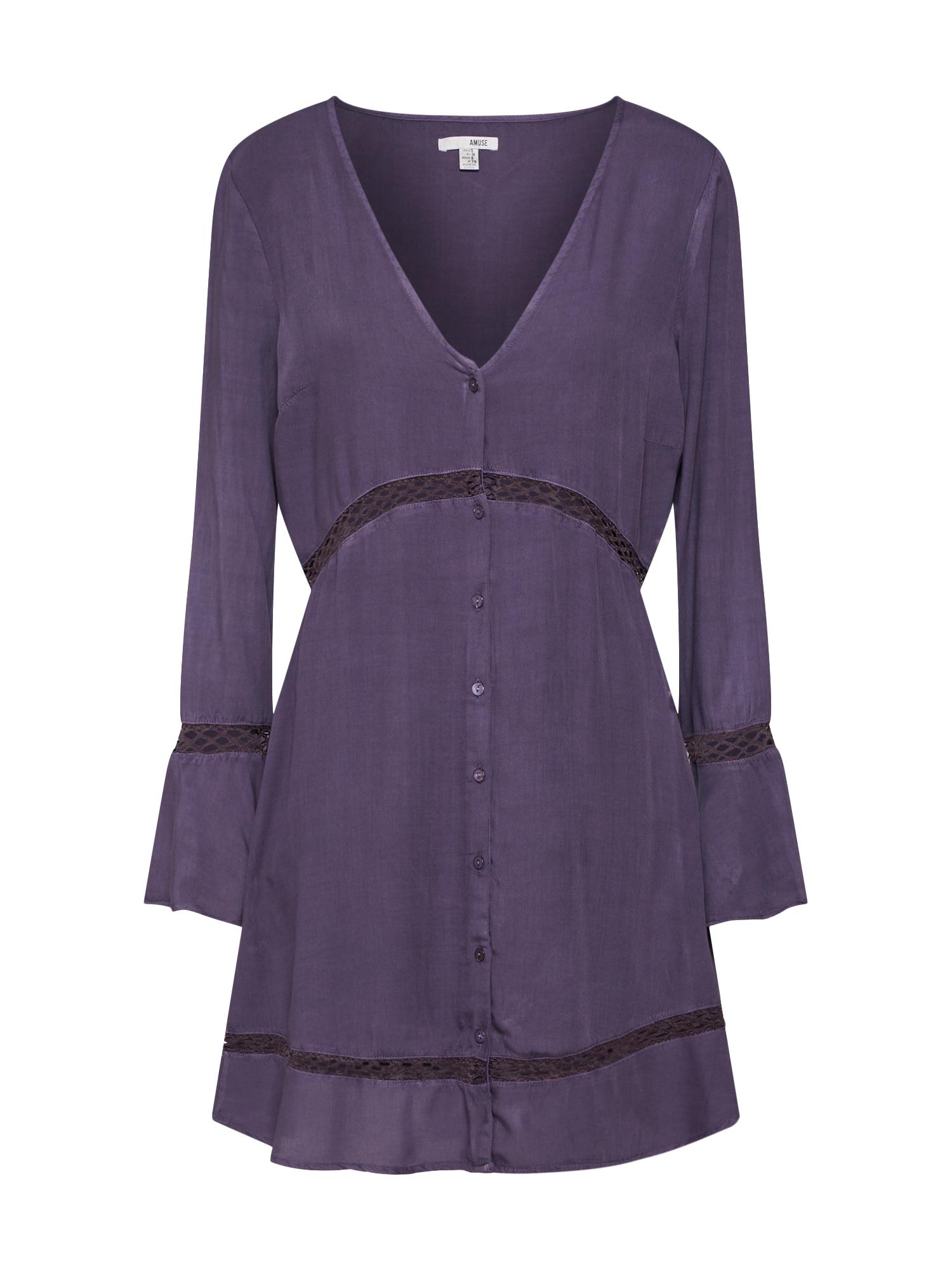 Šaty světle fialová Amuse Society