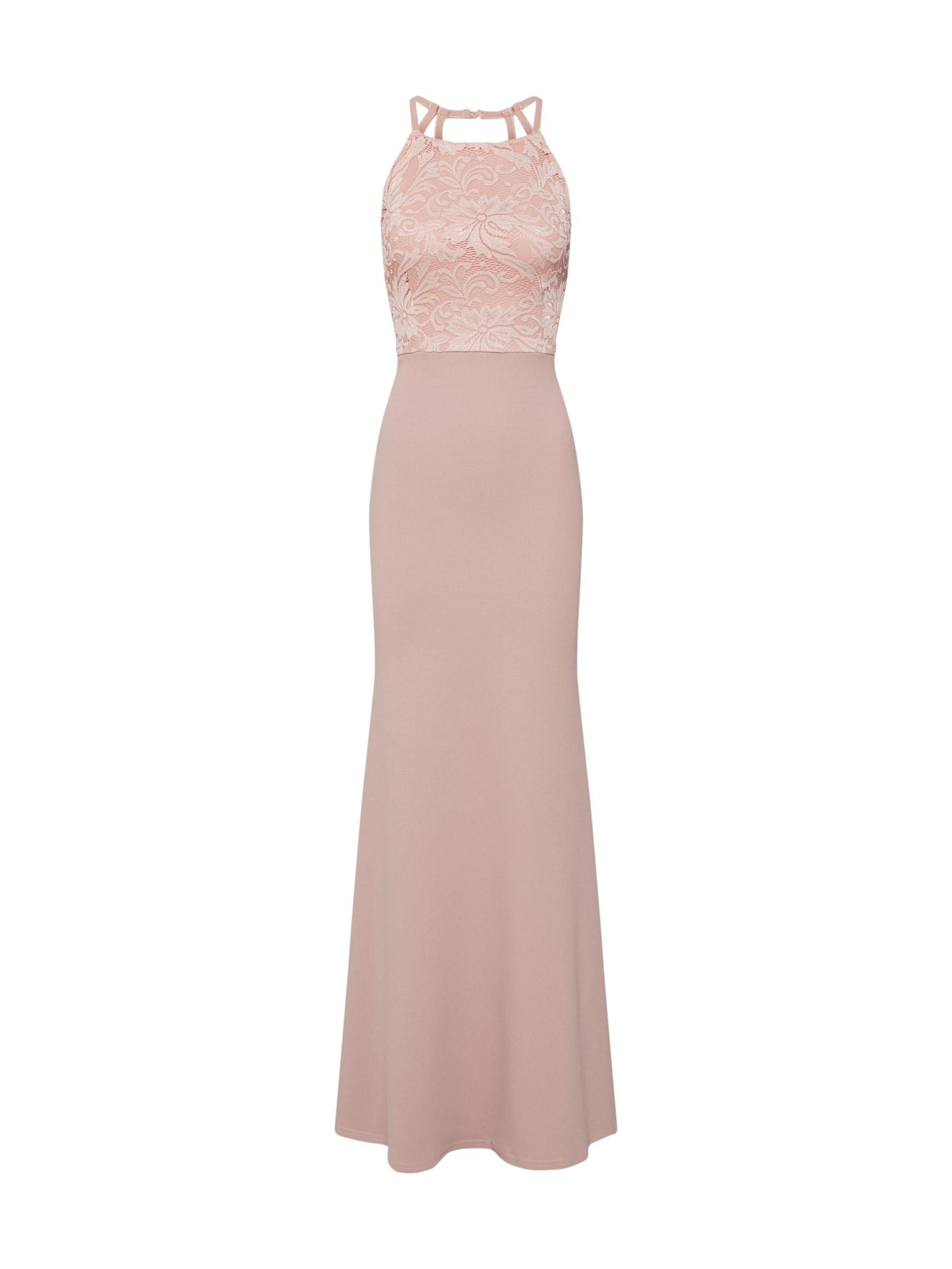 Společenské šaty růžová Missguided