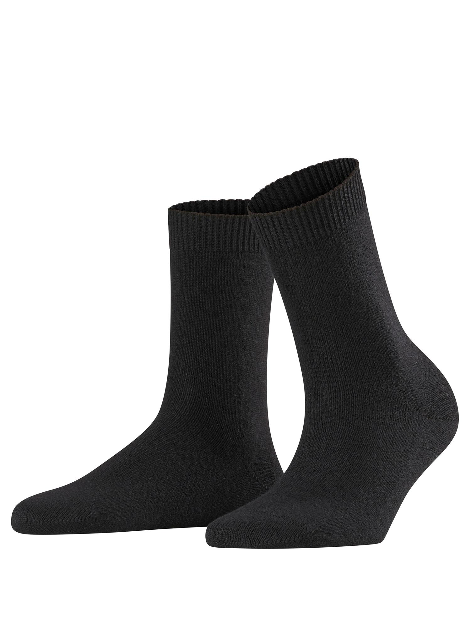 Ponožky Cosy Wool černá FALKE