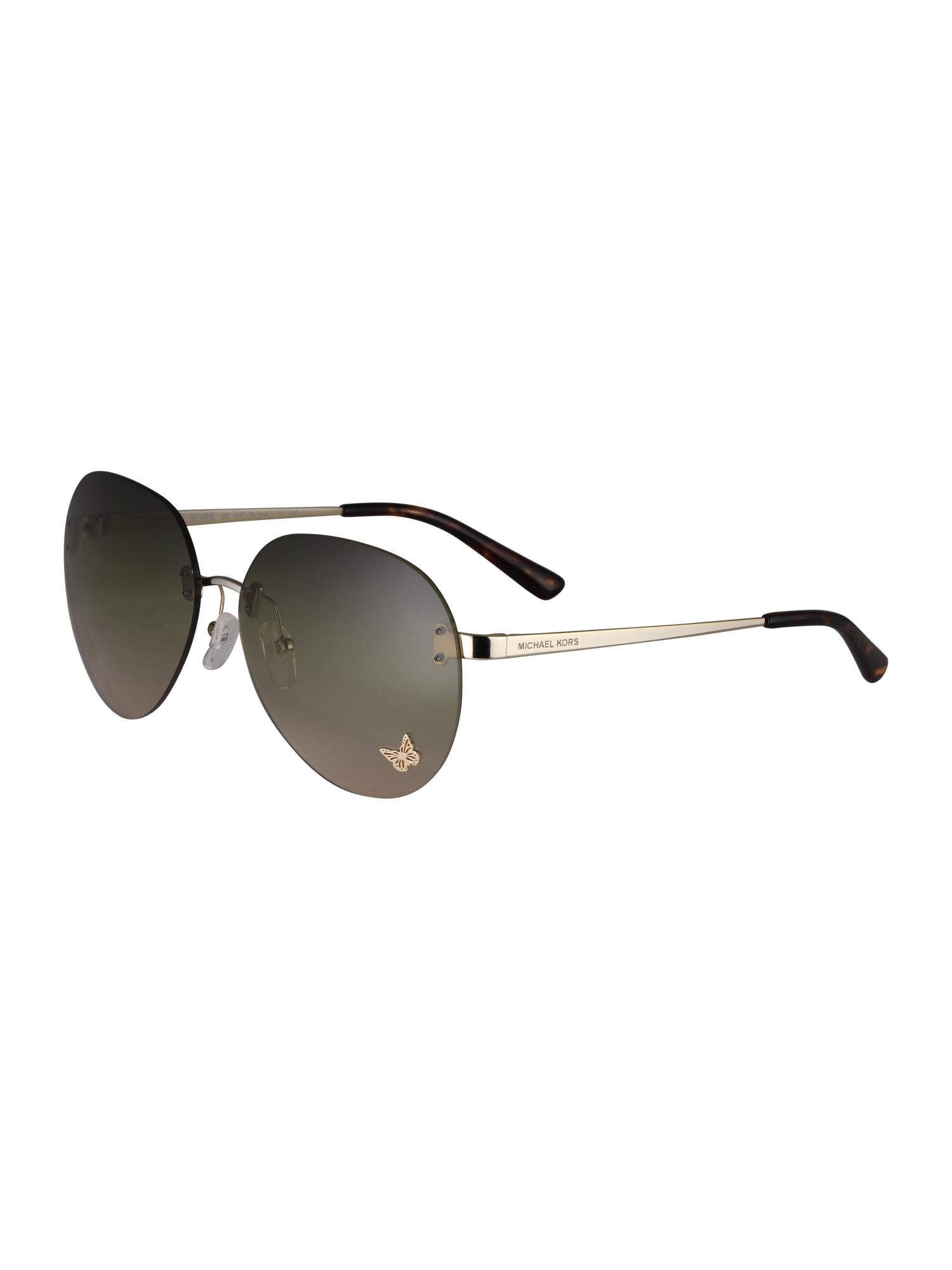 Sluneční brýle SYDNEY zlatá Michael Kors