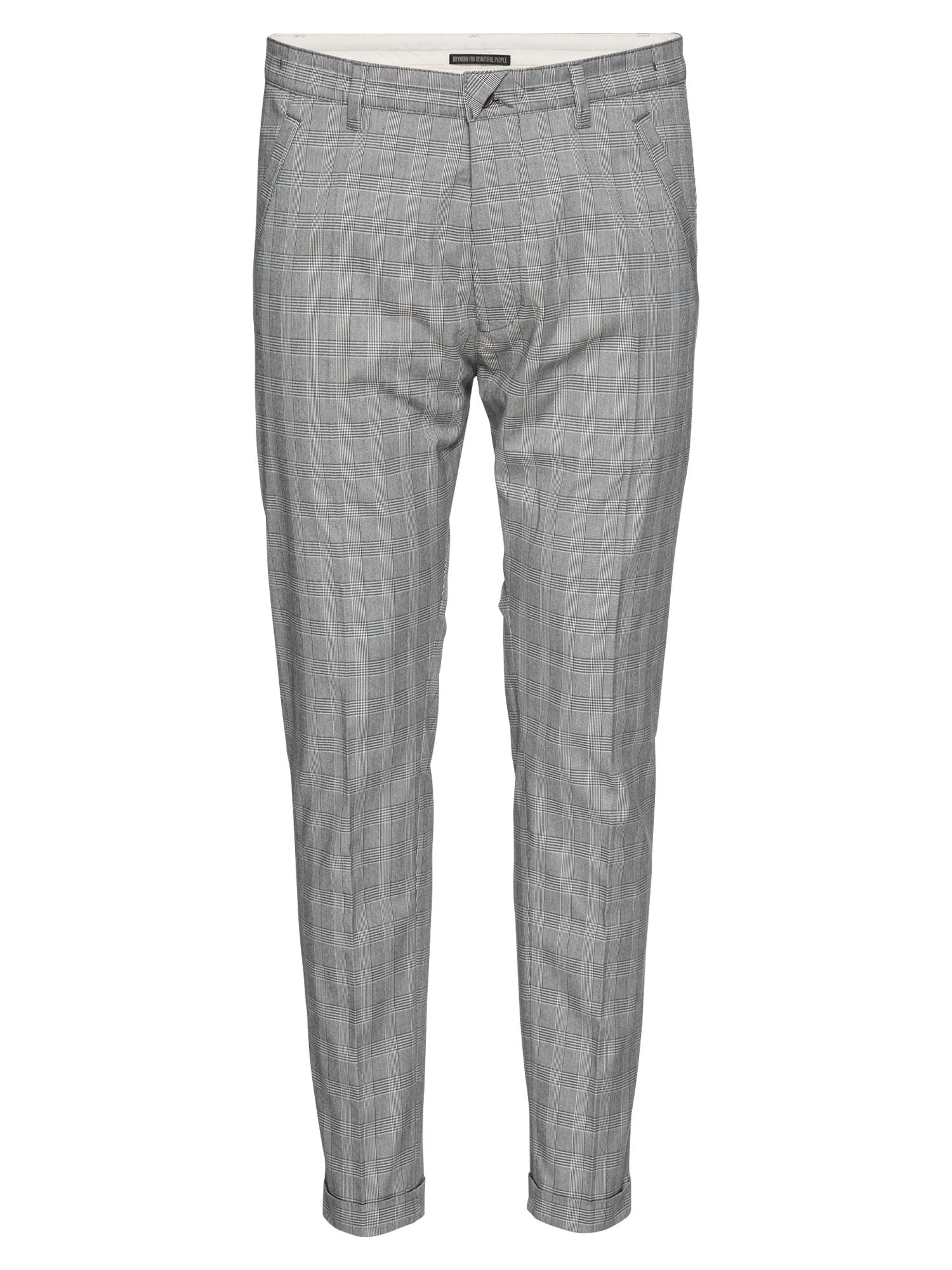 Kalhoty s puky BREW šedá DRYKORN