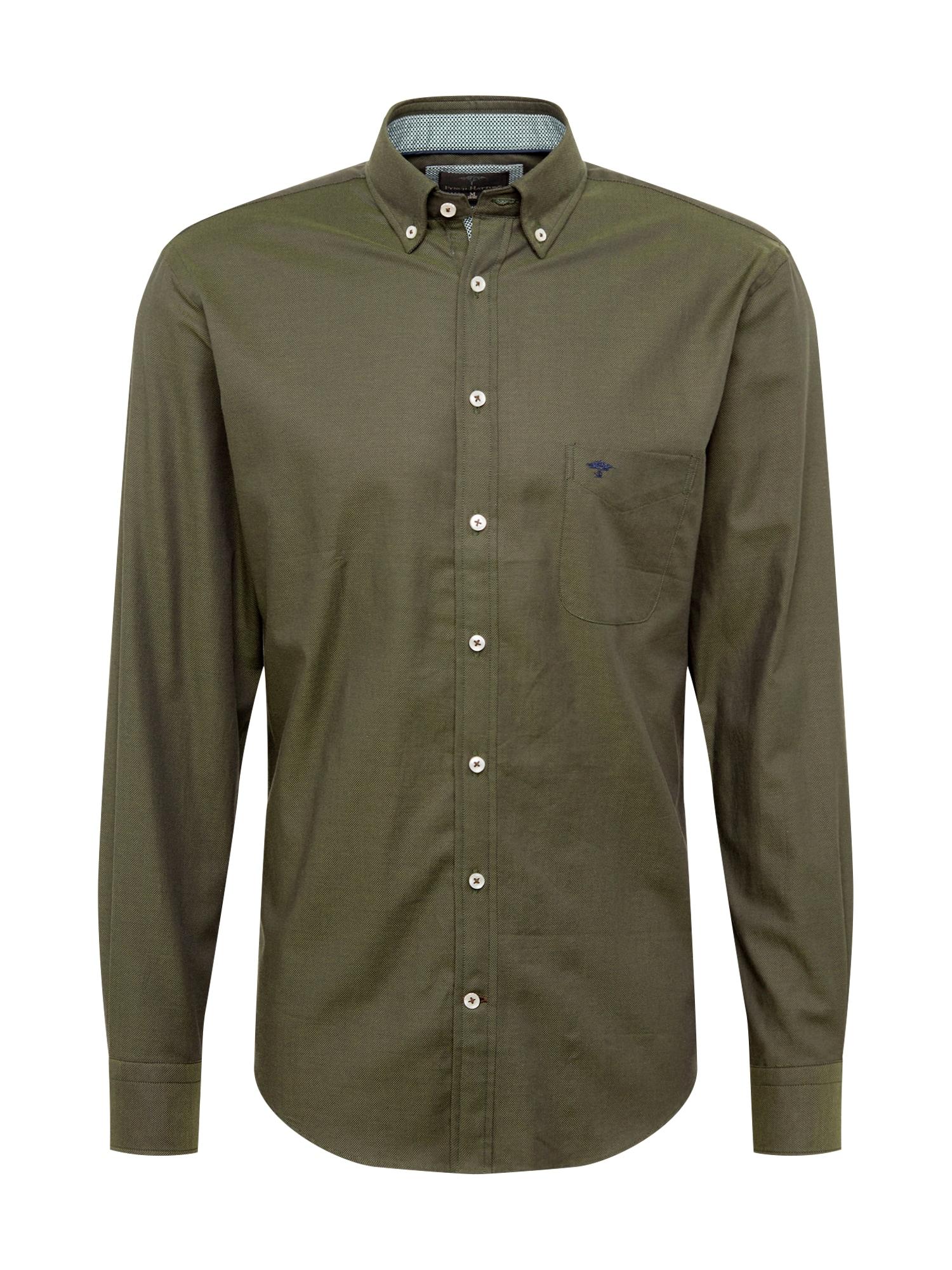 Košile zelená FYNCH-HATTON