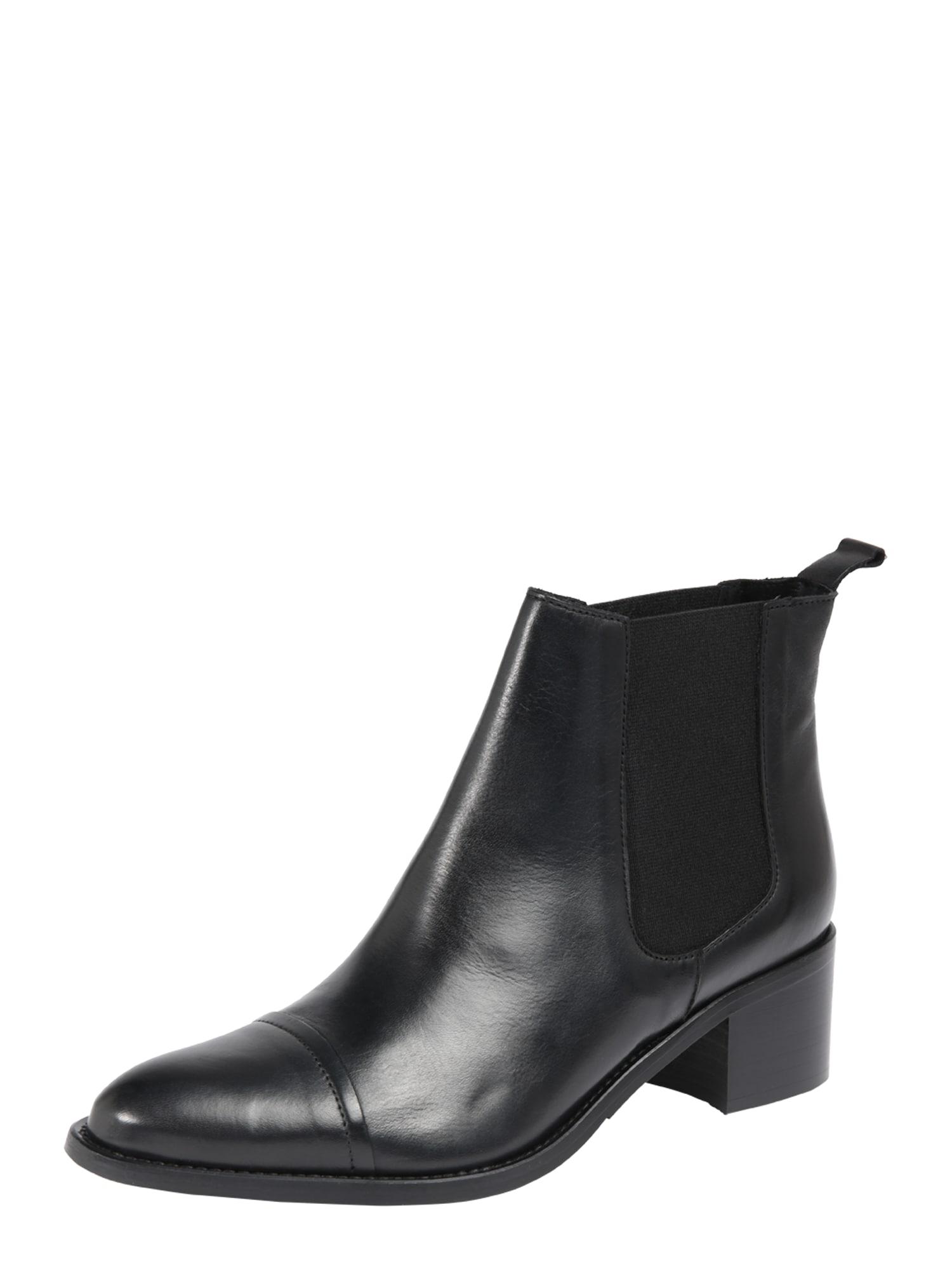 Chelsea boty Biacarol černá Bianco