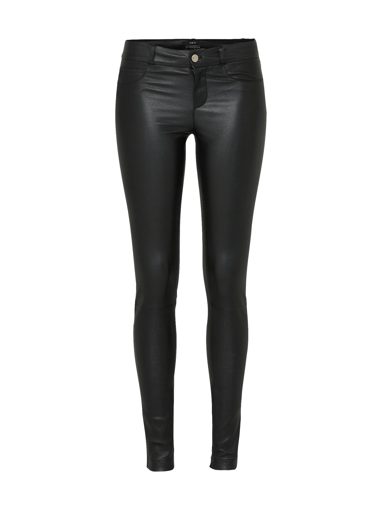 Kalhoty černá SET